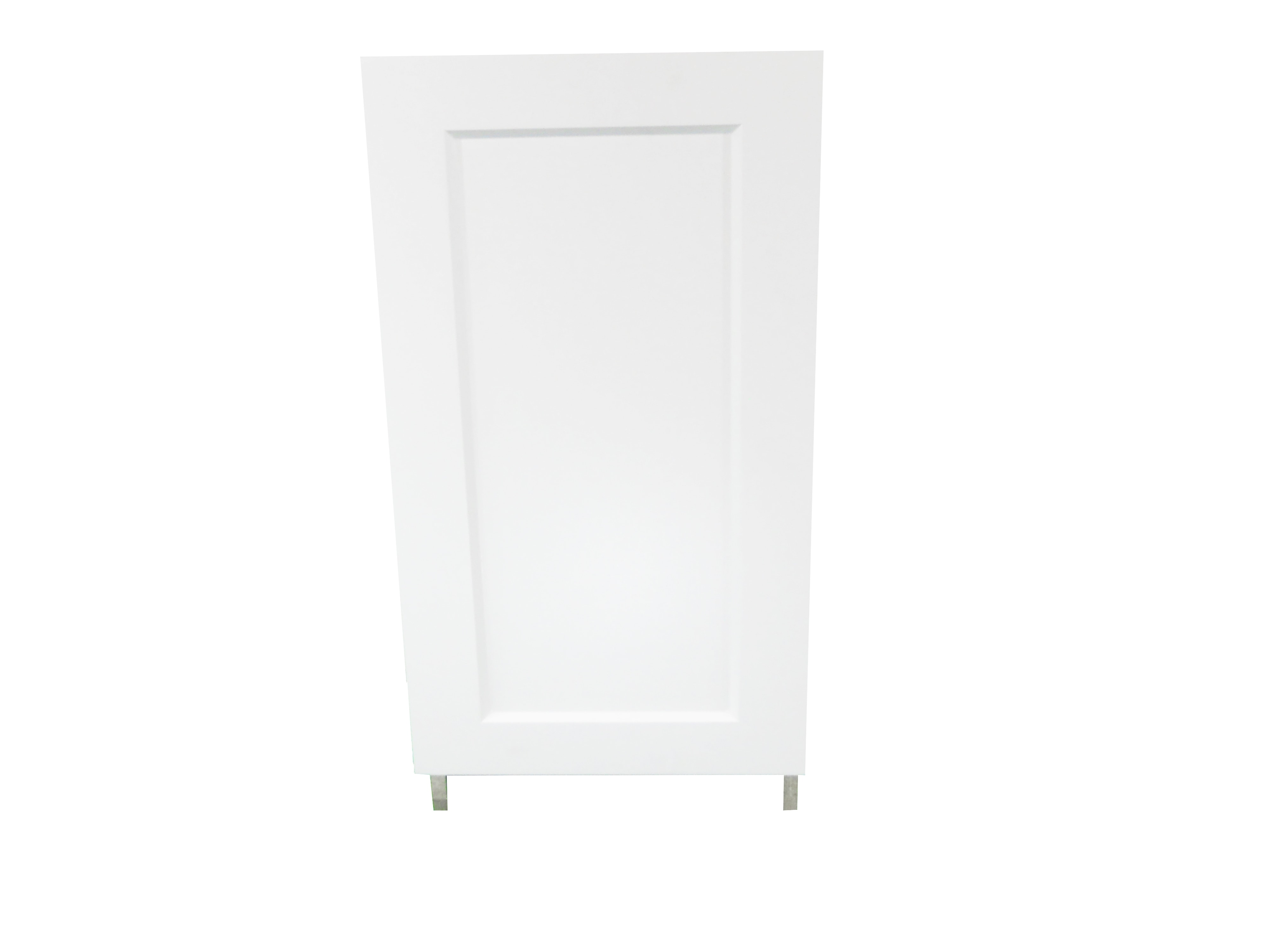 Base Cabinet With Door / Wistler White / Flat Panel White / 18 Whistler White 0