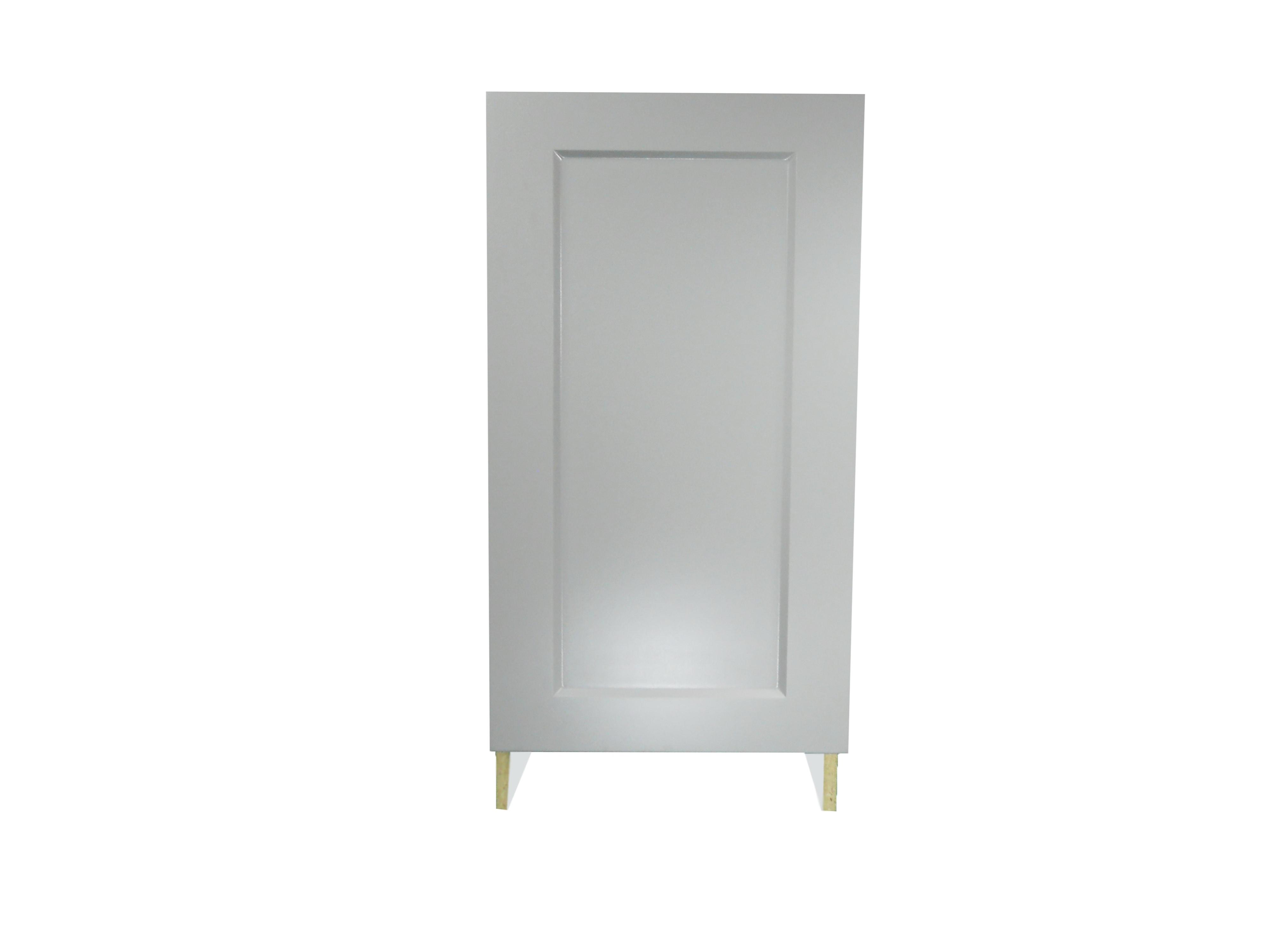 Base Cabinet With Door / Whistler Grey / Flat Panel Grey / 21 Whistler Grey 0