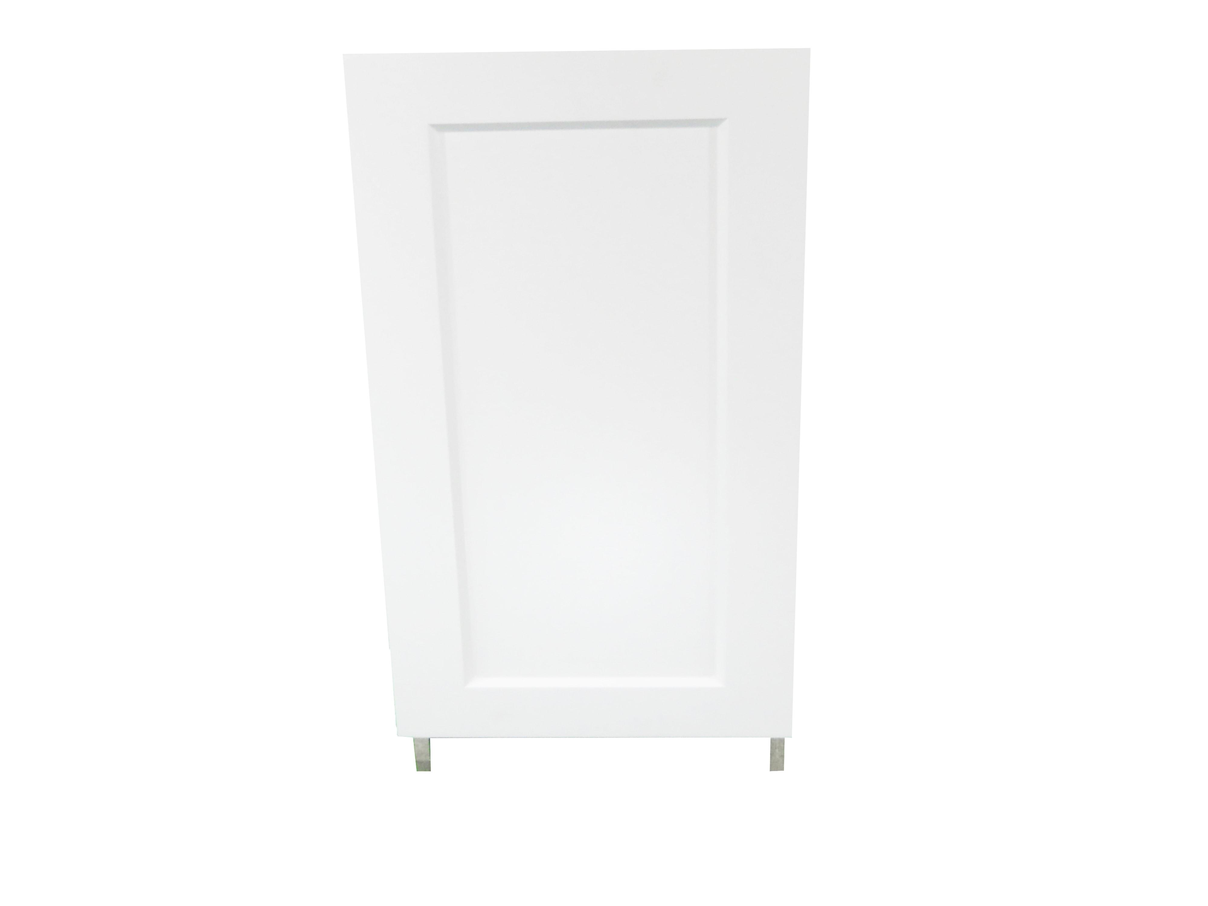 Base Cabinet With Door / Wistler White / Flat Panel White / 21 Whistler White 0