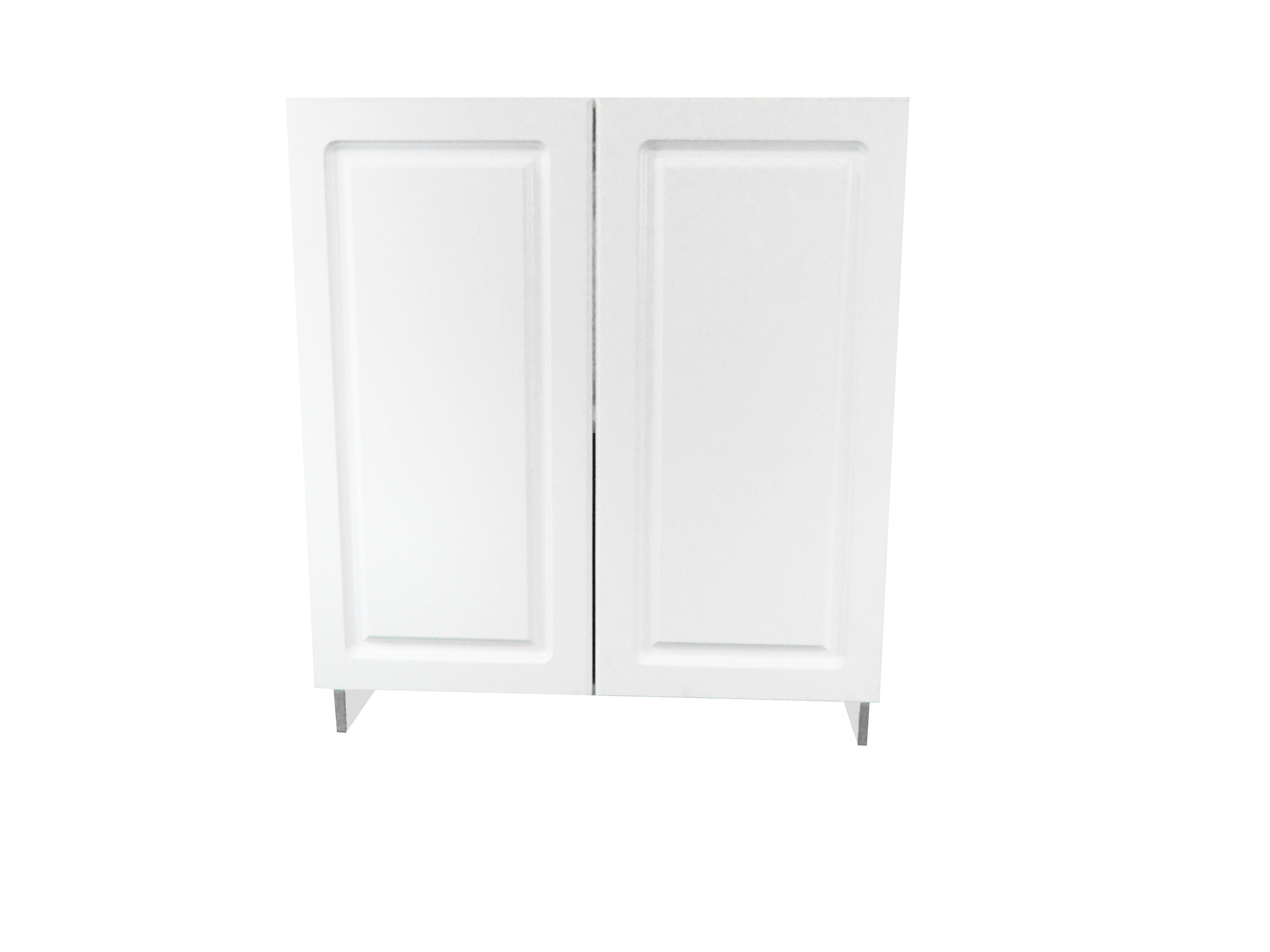 Base Cabinet With 2 Door / San Juan / Raised Panel White / 24 San Juan 0