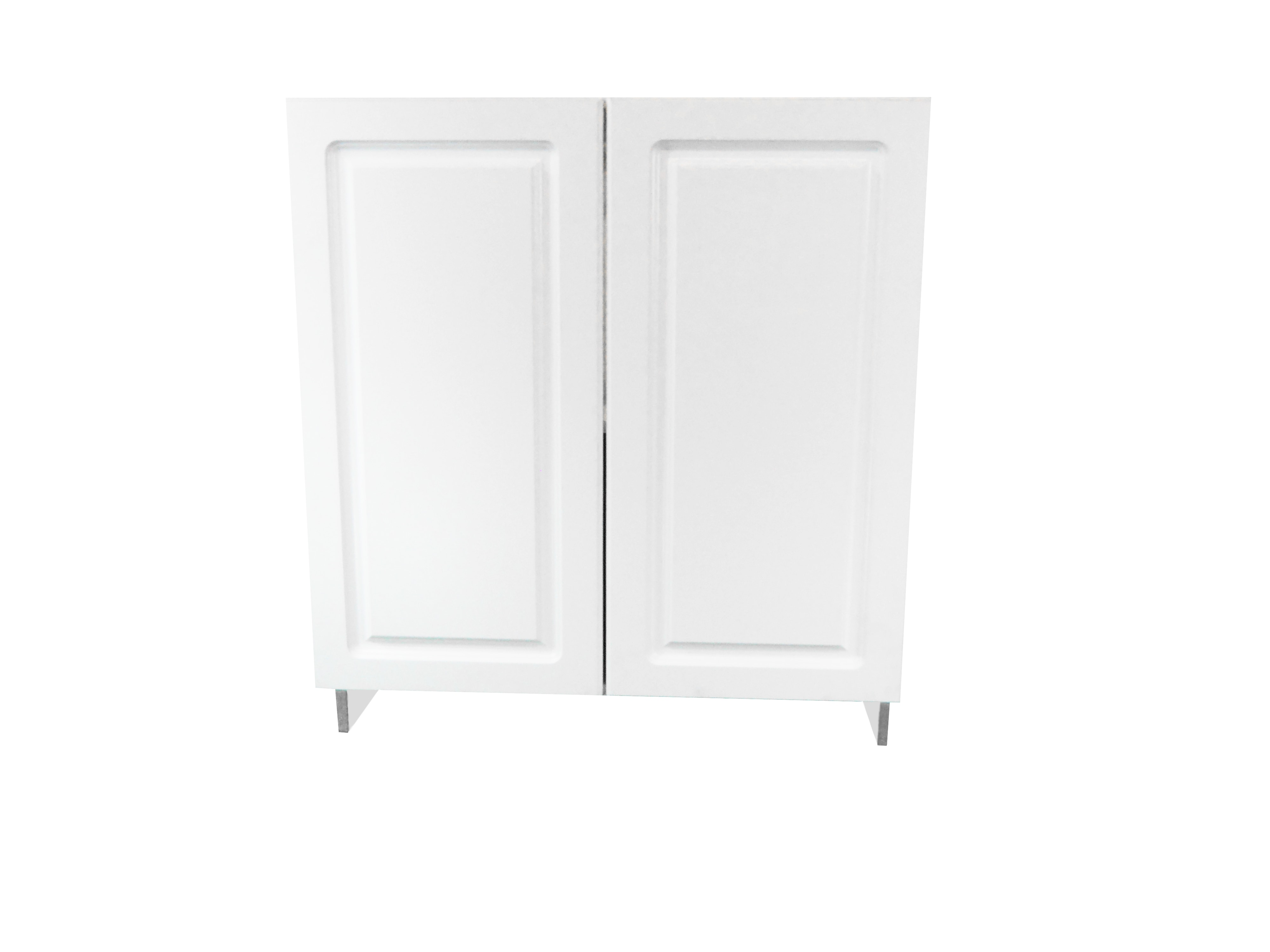 Base Cabinet With 2 Door / San Juan / Raised Panel White / 33 San Juan 0
