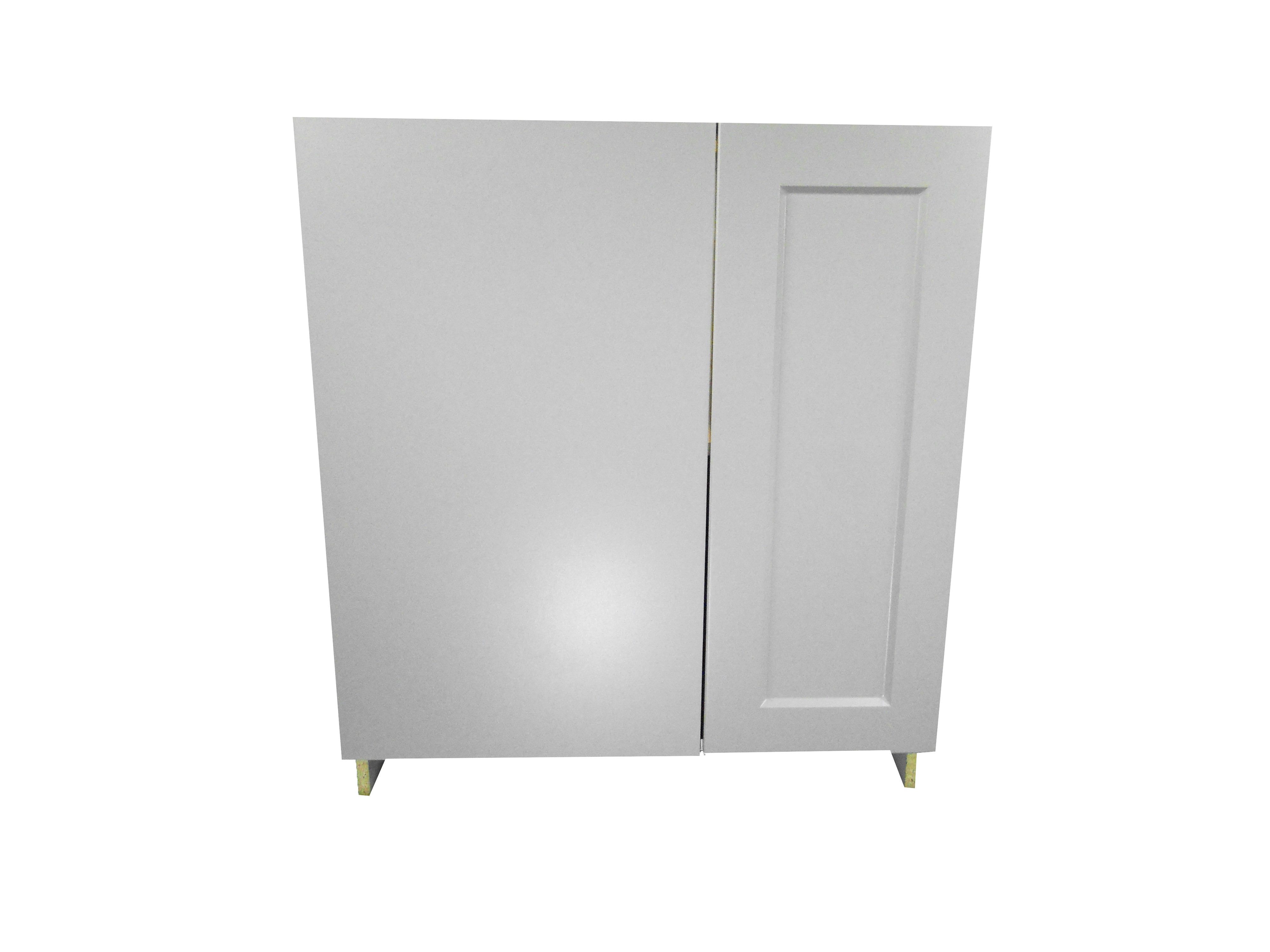Blind Base Cabinet with Door / Whistler Grey / Flat Panel Grey / 30 Whistler Grey 0