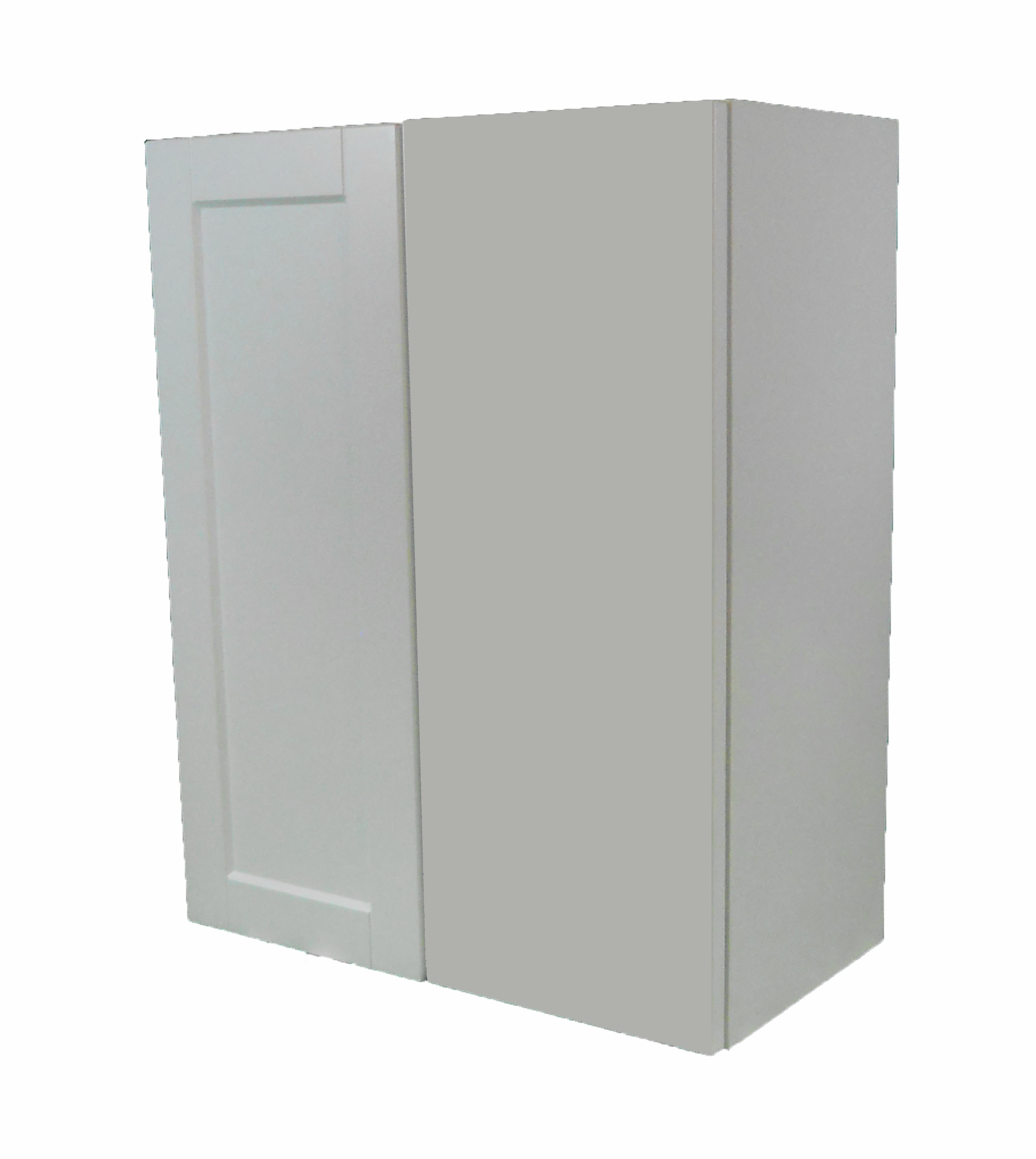 Blind Wall Cabinet / Flat Panel White / 24x30 Solaire White 0