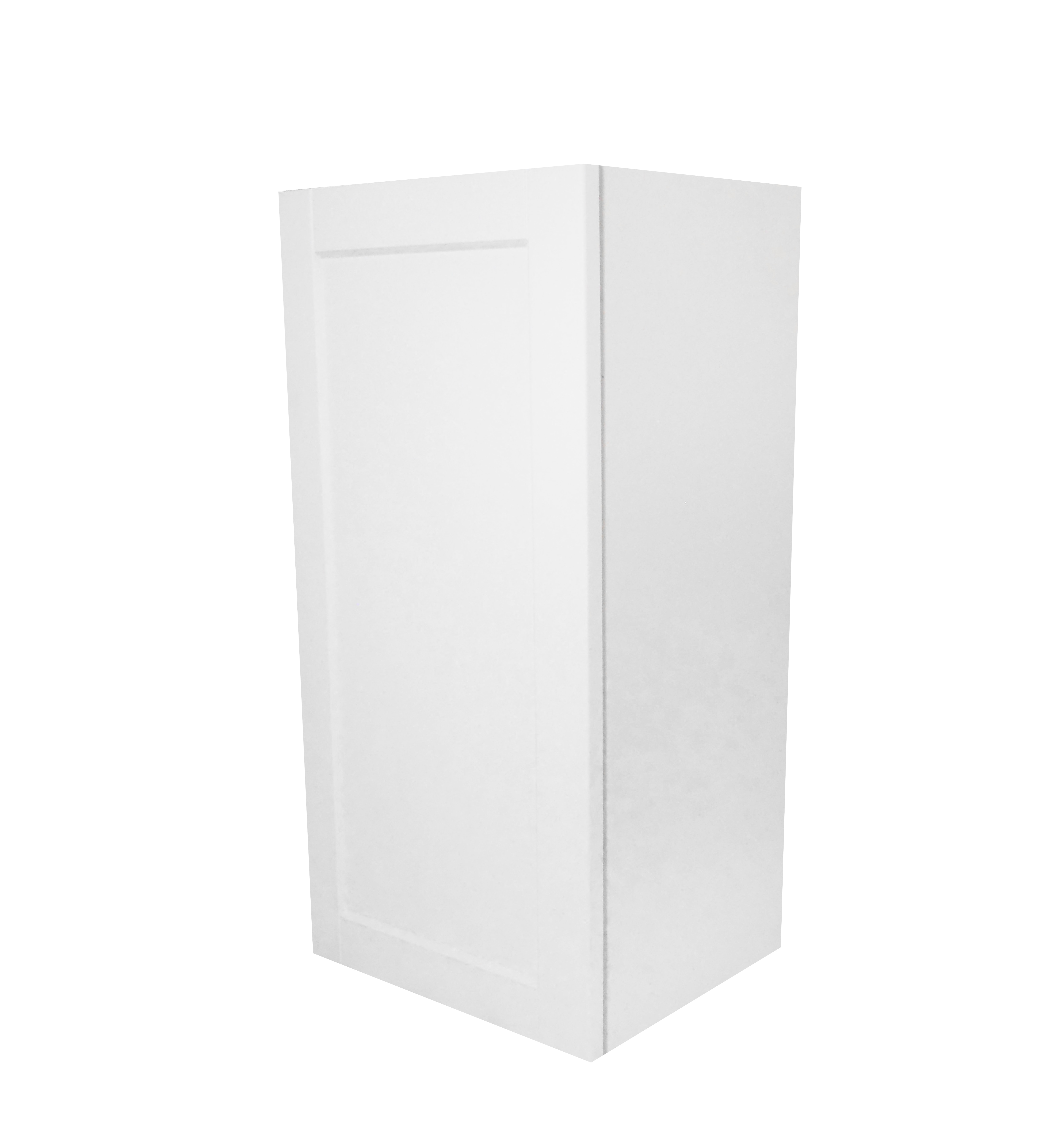 Wall Cabinet / Flat Panel White / 15x30 Solaire White 0