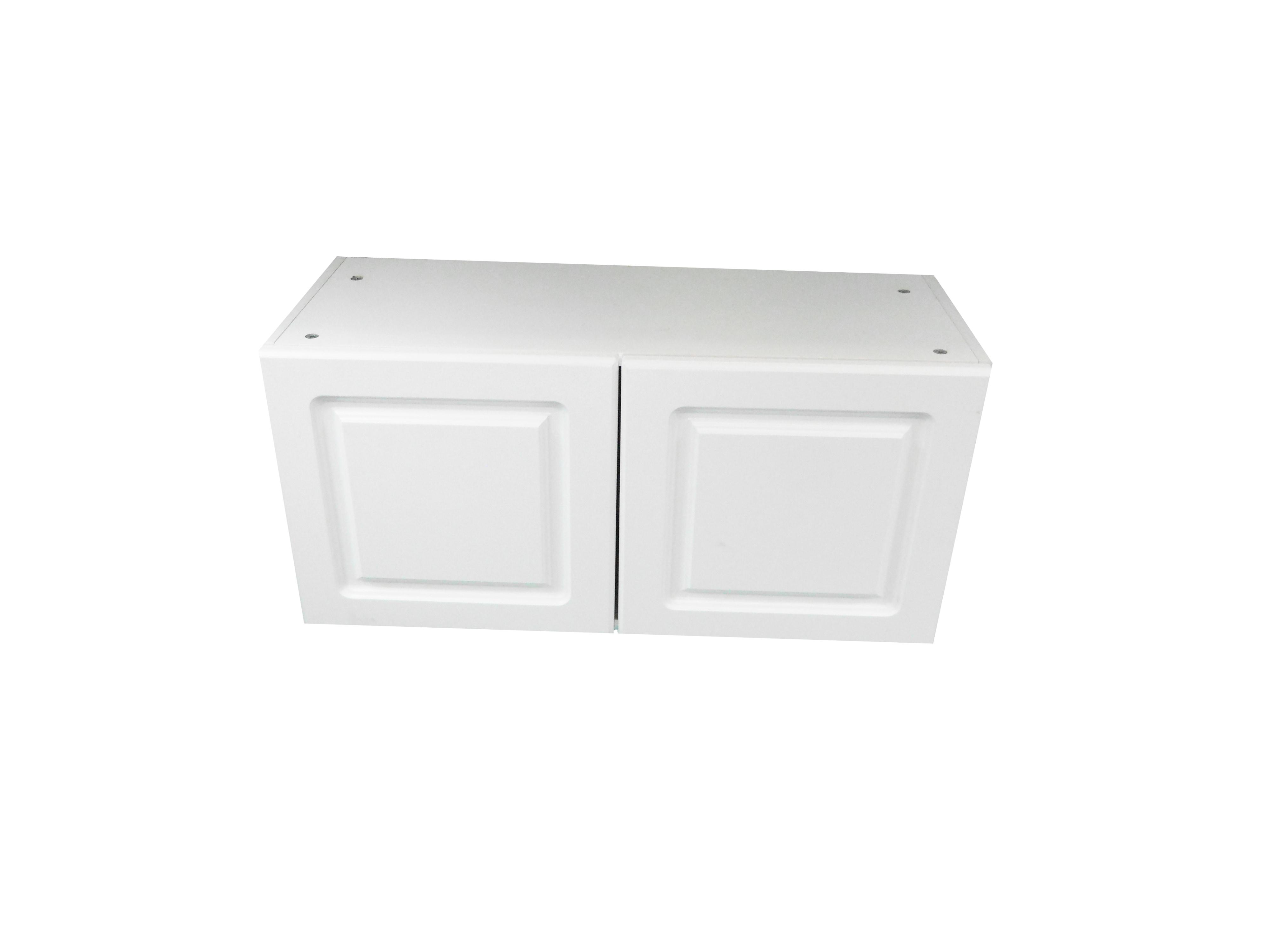 Appliance Wall Cabinet with 2 Doors / San Juan / Raised Panel White / 30x12 San Juan 0