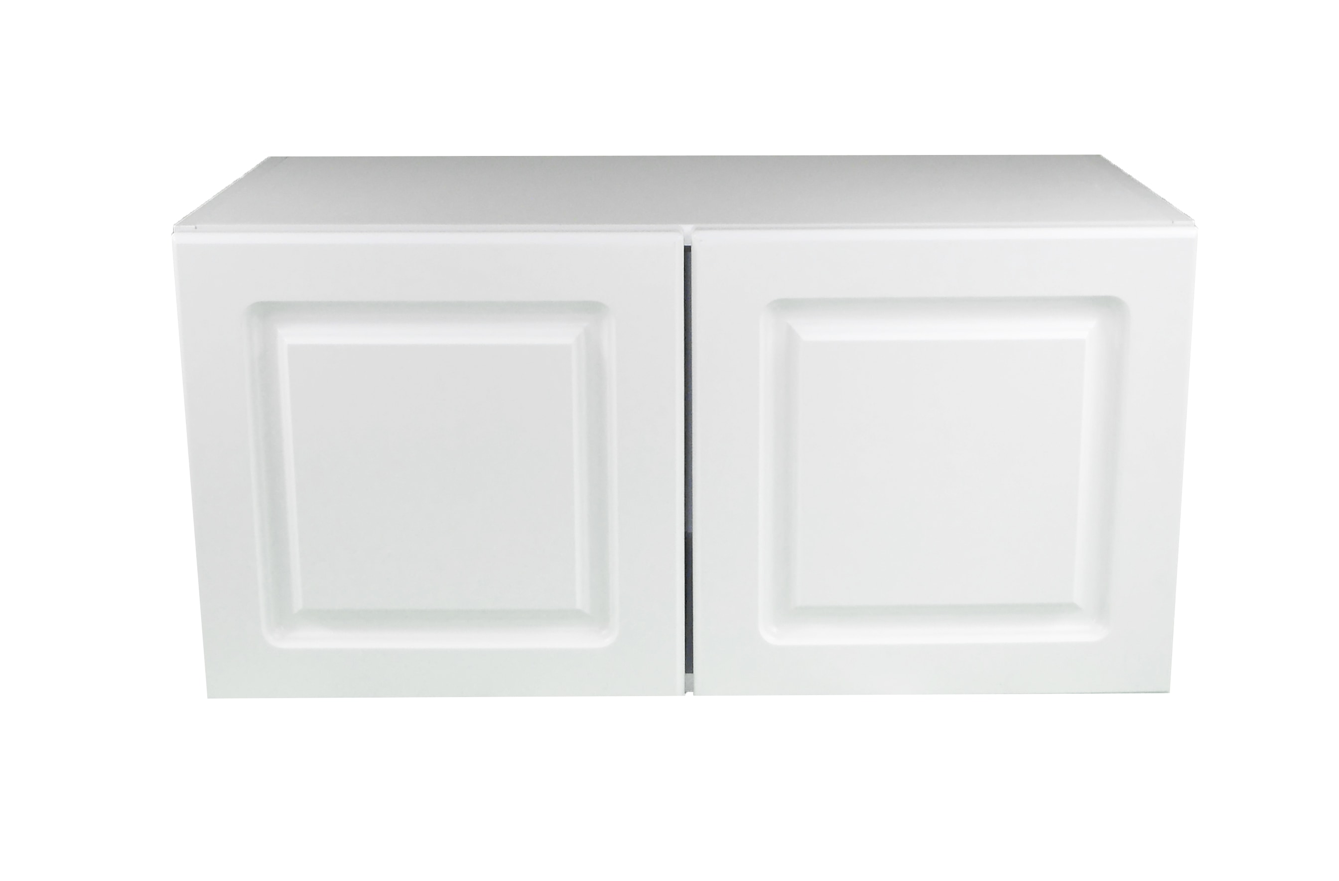 Appliance Wall Cabinet with 2 Doors / San Juan / Raised Panel White / 30x15 San Juan 0