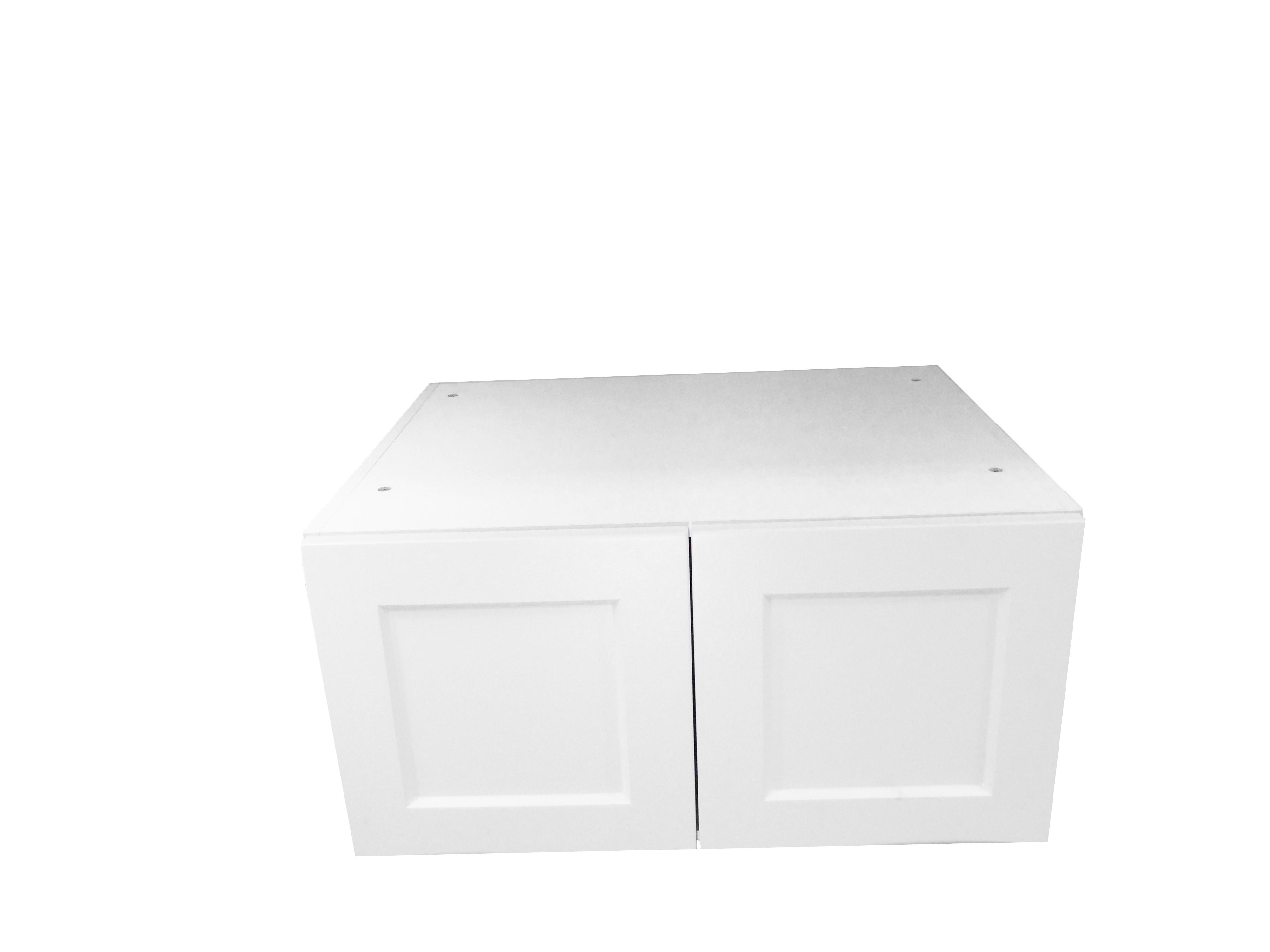 Deep Appliance Wall Cabinet / Wistler White / Flat Panel White / 33x15x24 Whistler White 0