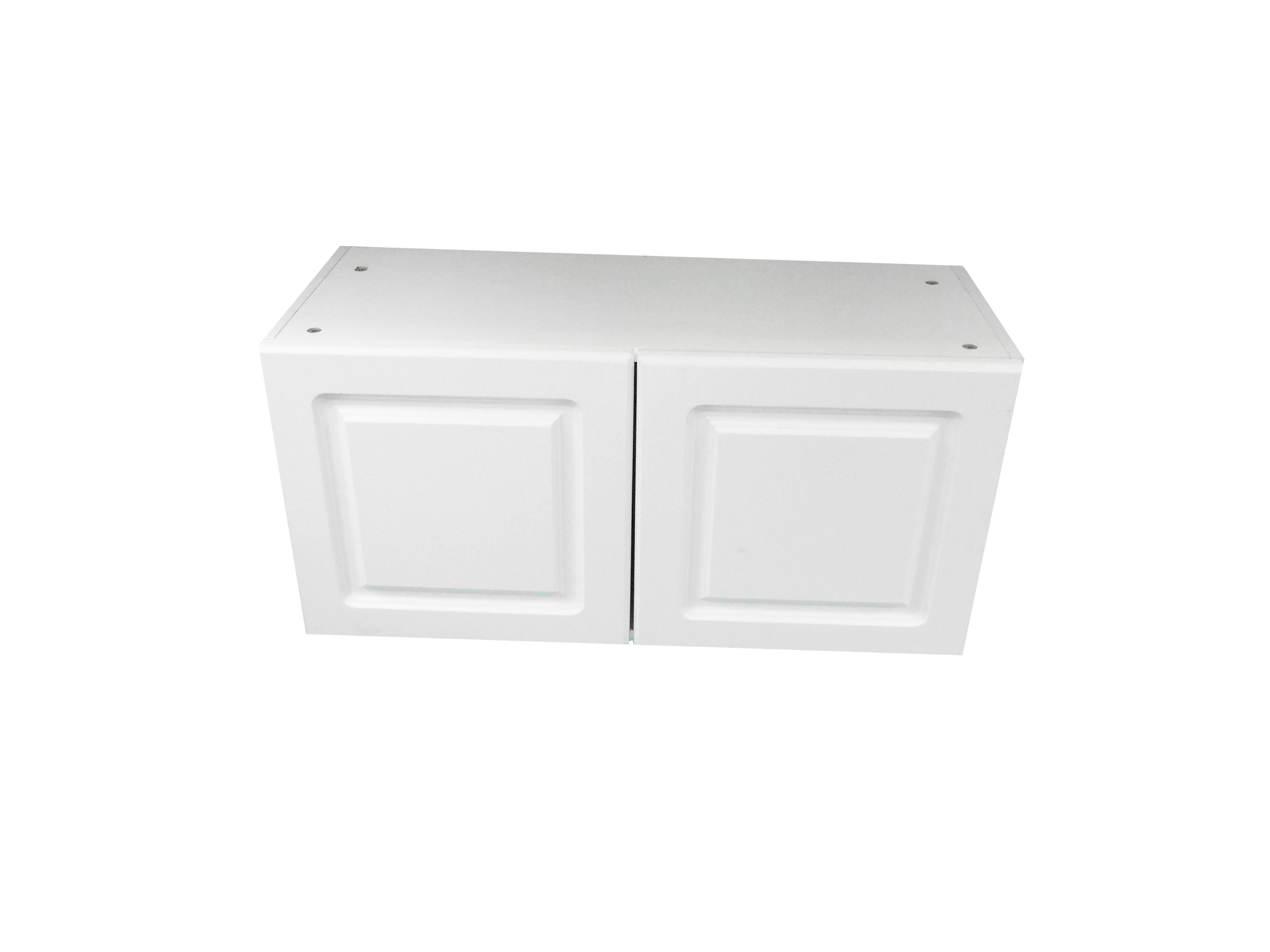 Appliance Wall Cabinet with 2 Doors / San Juan / Raised Panel White / 33x15 San Juan 0