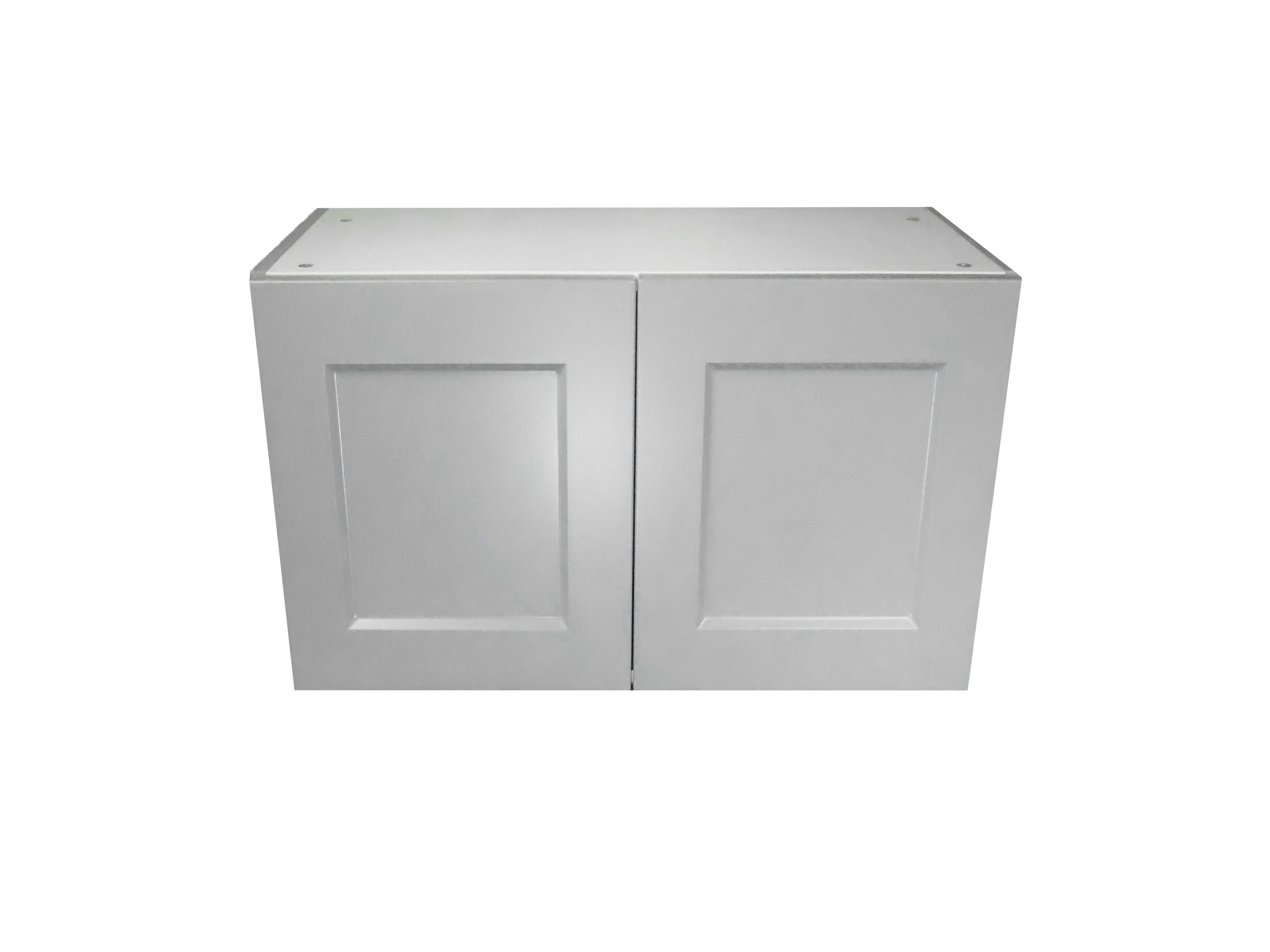 Appliance Wall Cabinet with 2 Doors / Whistler Grey / Flat Panel Grey / 33x18 Whistler Grey 0