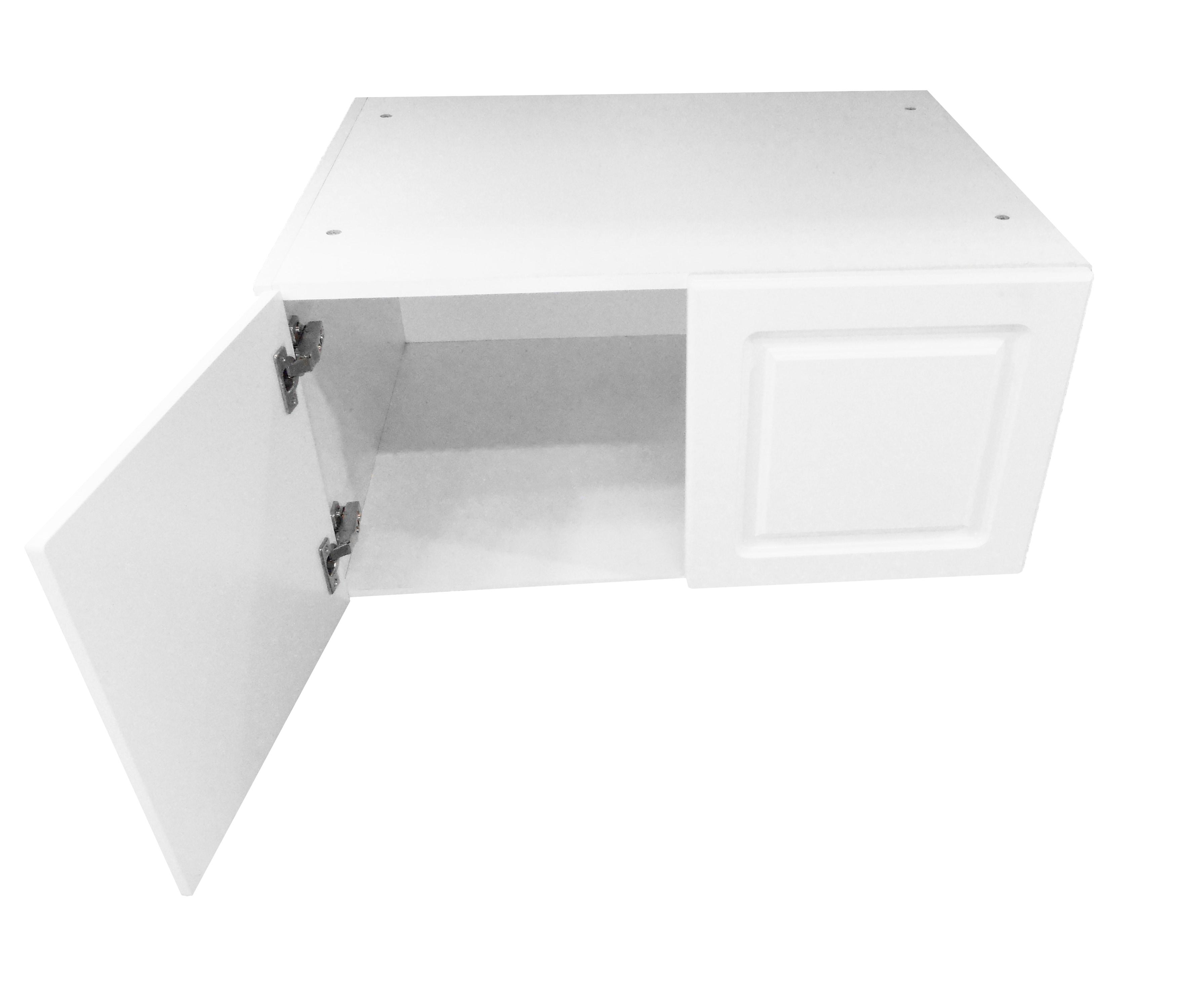 Deep Appliance Wall Cabinet / San Juan / Raised Panel White / 36x15x24 San Juan 0
