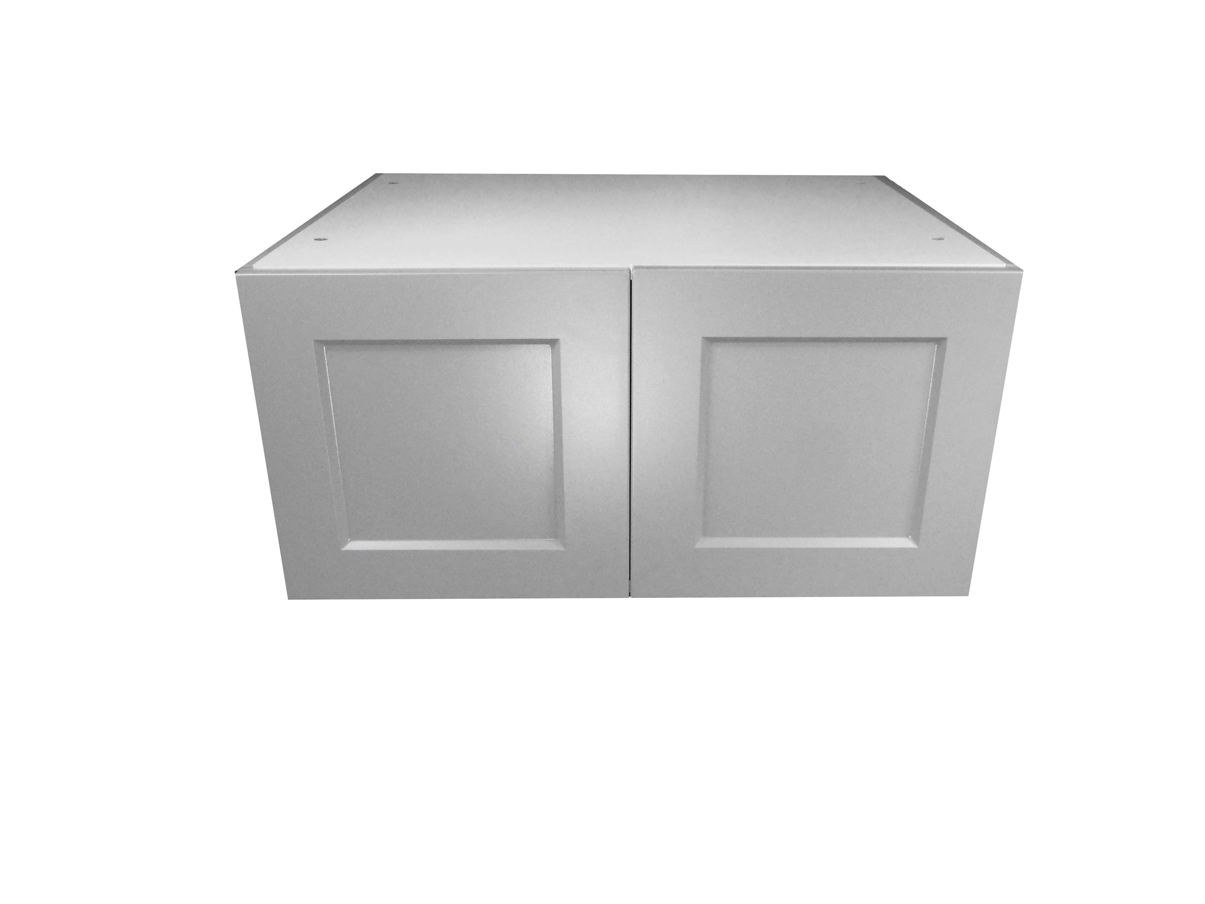 Deep Appliance Wall Cabinet / Whistler Grey / Flat Panel Grey / 36x15x24 Whistler Grey 0