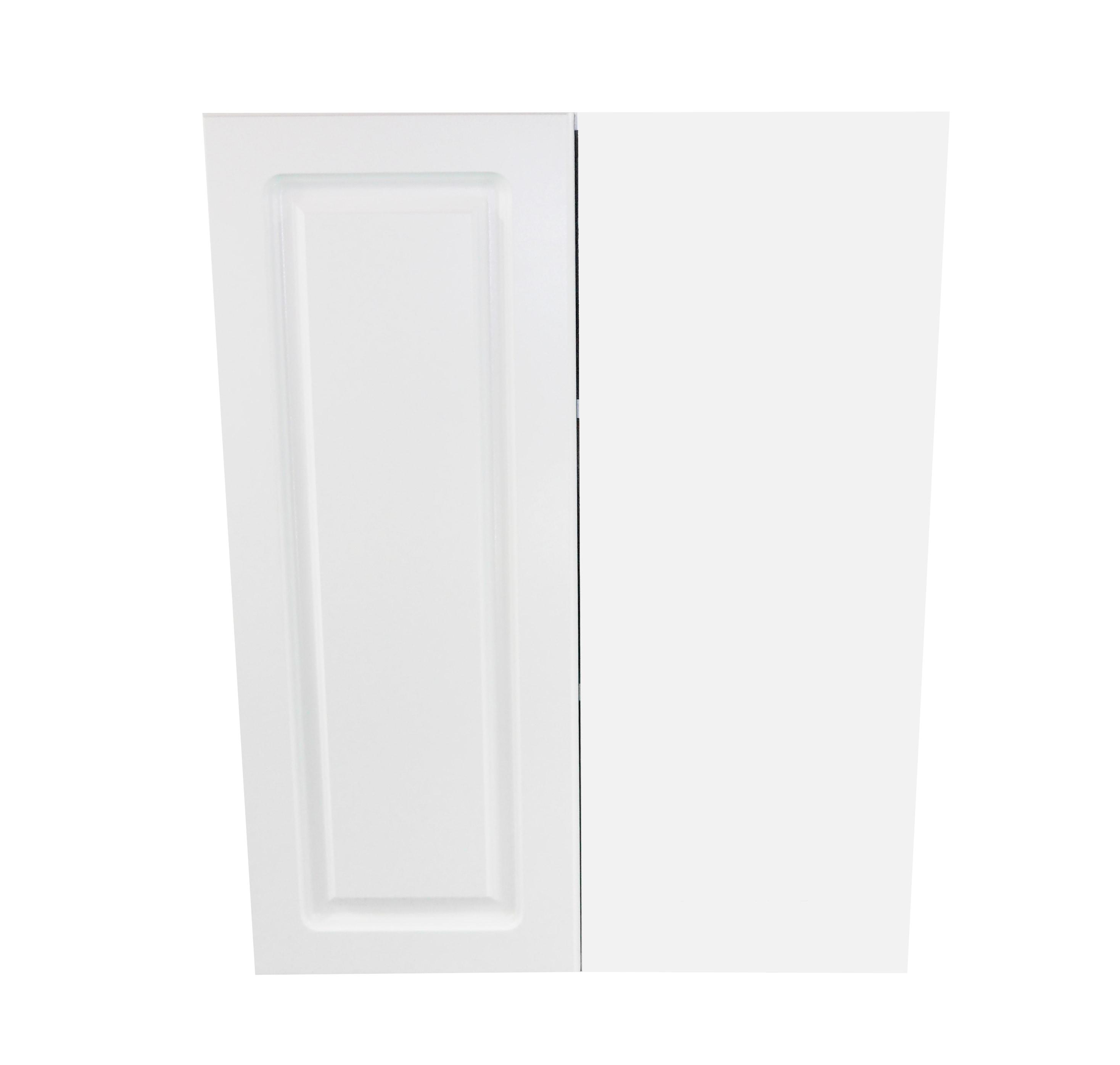 Blind Wall Cabinet / San Juan / Raised Panel White / 24x24x30 San Juan 0
