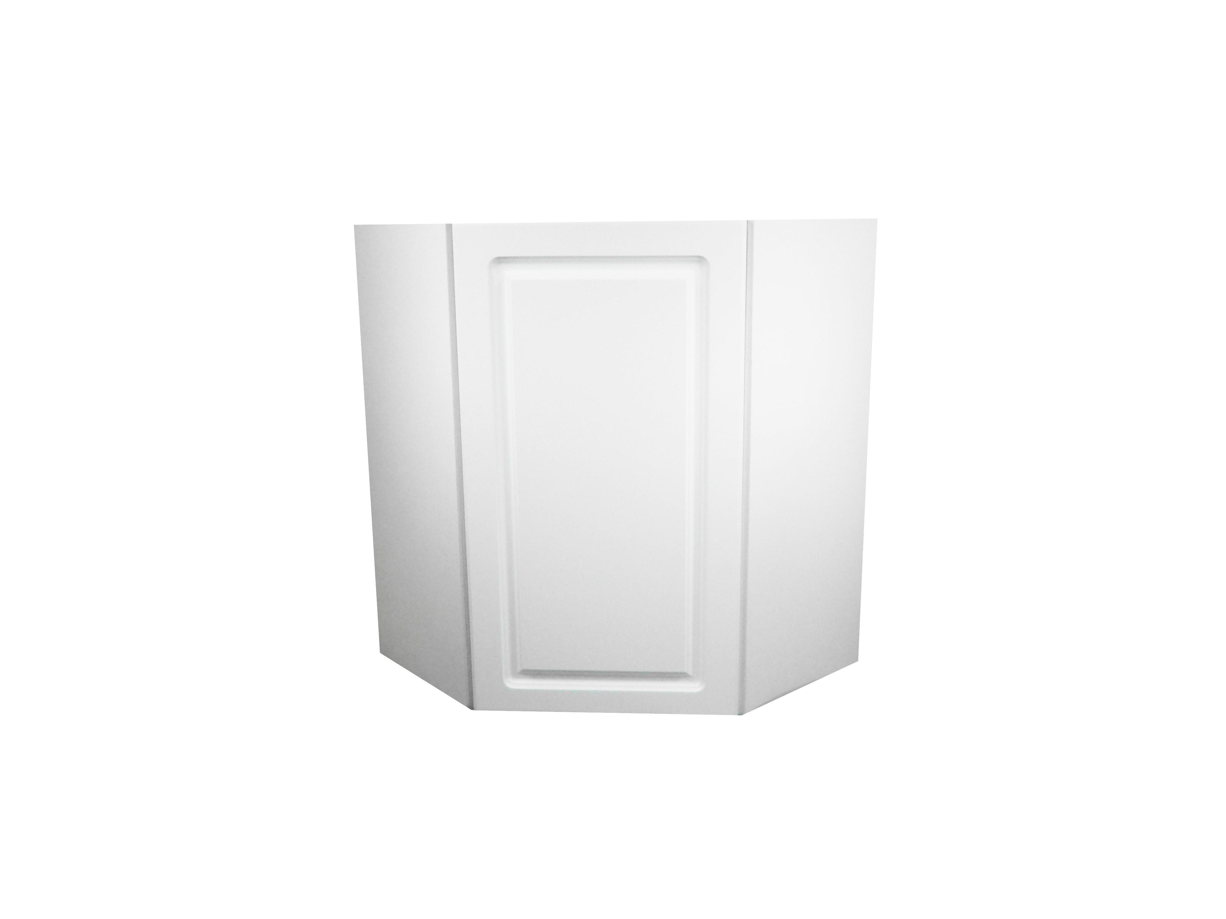 Corner Wall Cabinet / San Juan / Raised Panel White / 24x24x30 San Juan 0