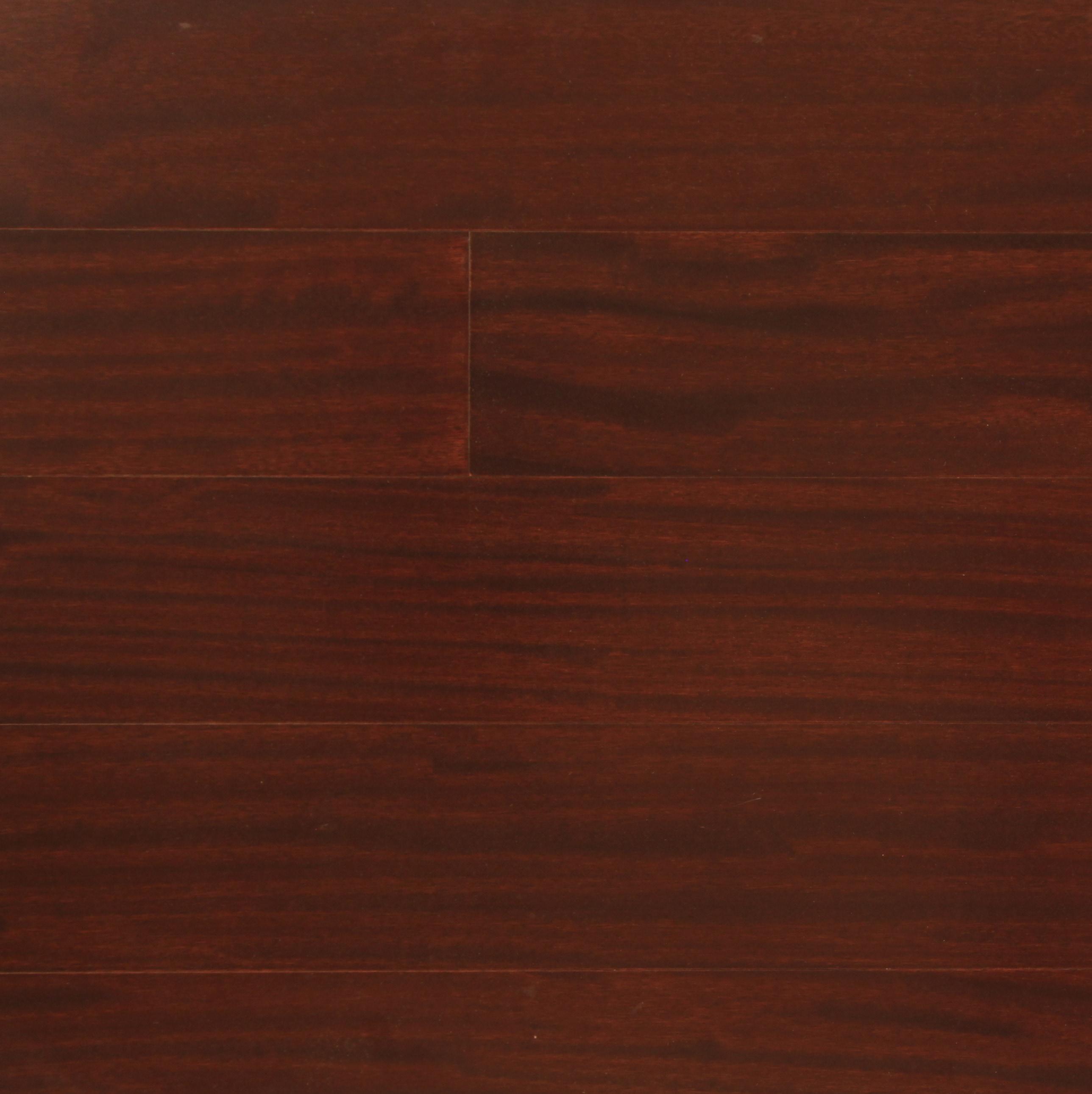 "Burgundy MHT-29-XXX / Sapele / A / 5/16"" x 5"" x 4ft / Prefinished-UV Engineered Hardwood Flooring - African Heritage Collection 0"