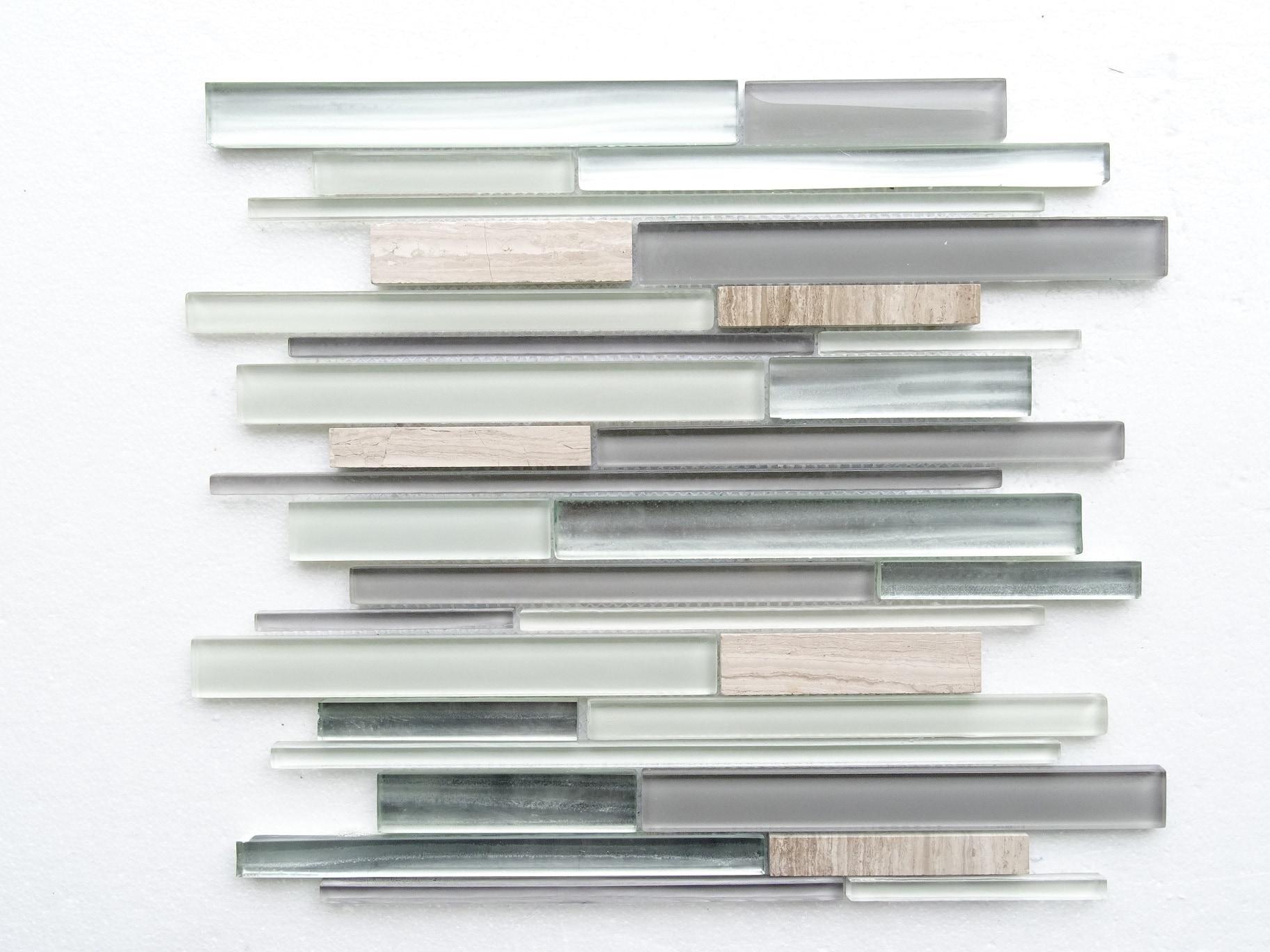 """Argento / 13.75""""X12""""X8 mm Textured Stripe 0"""