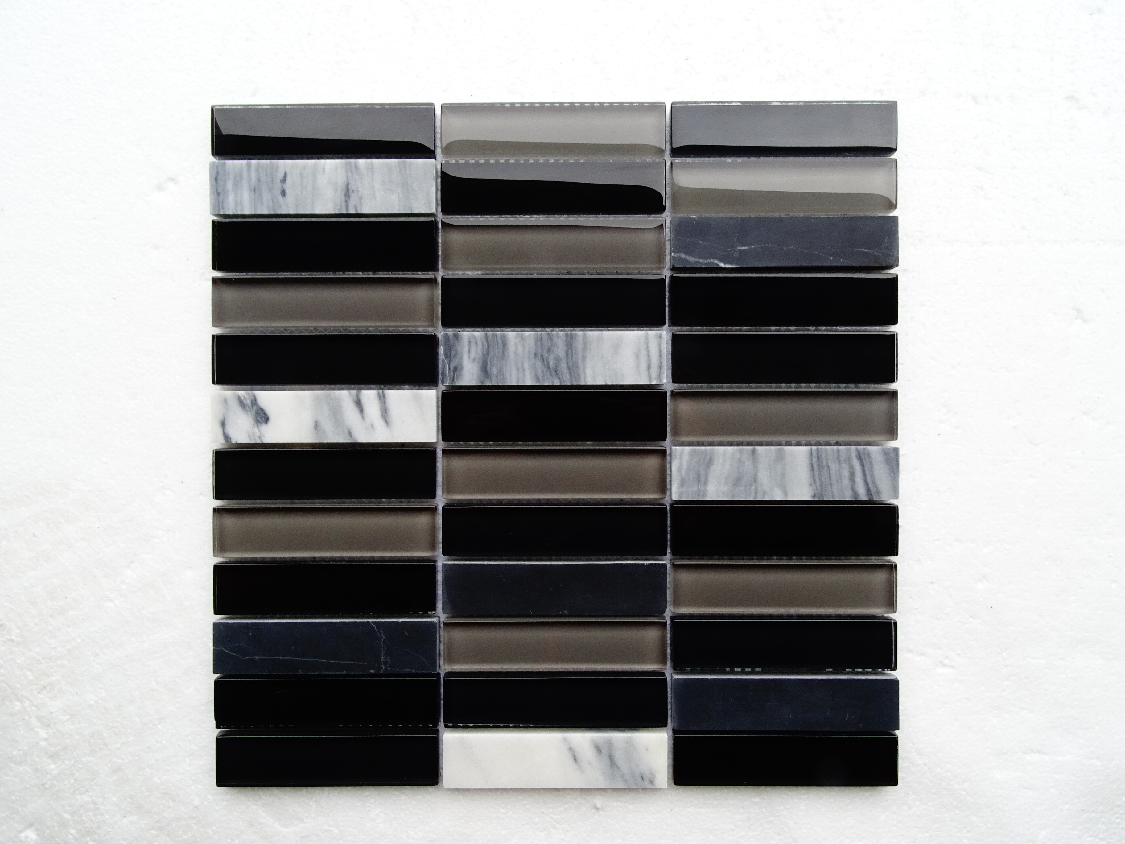 "dark swan / 11.75""x12""x8mm Silk Series 0"