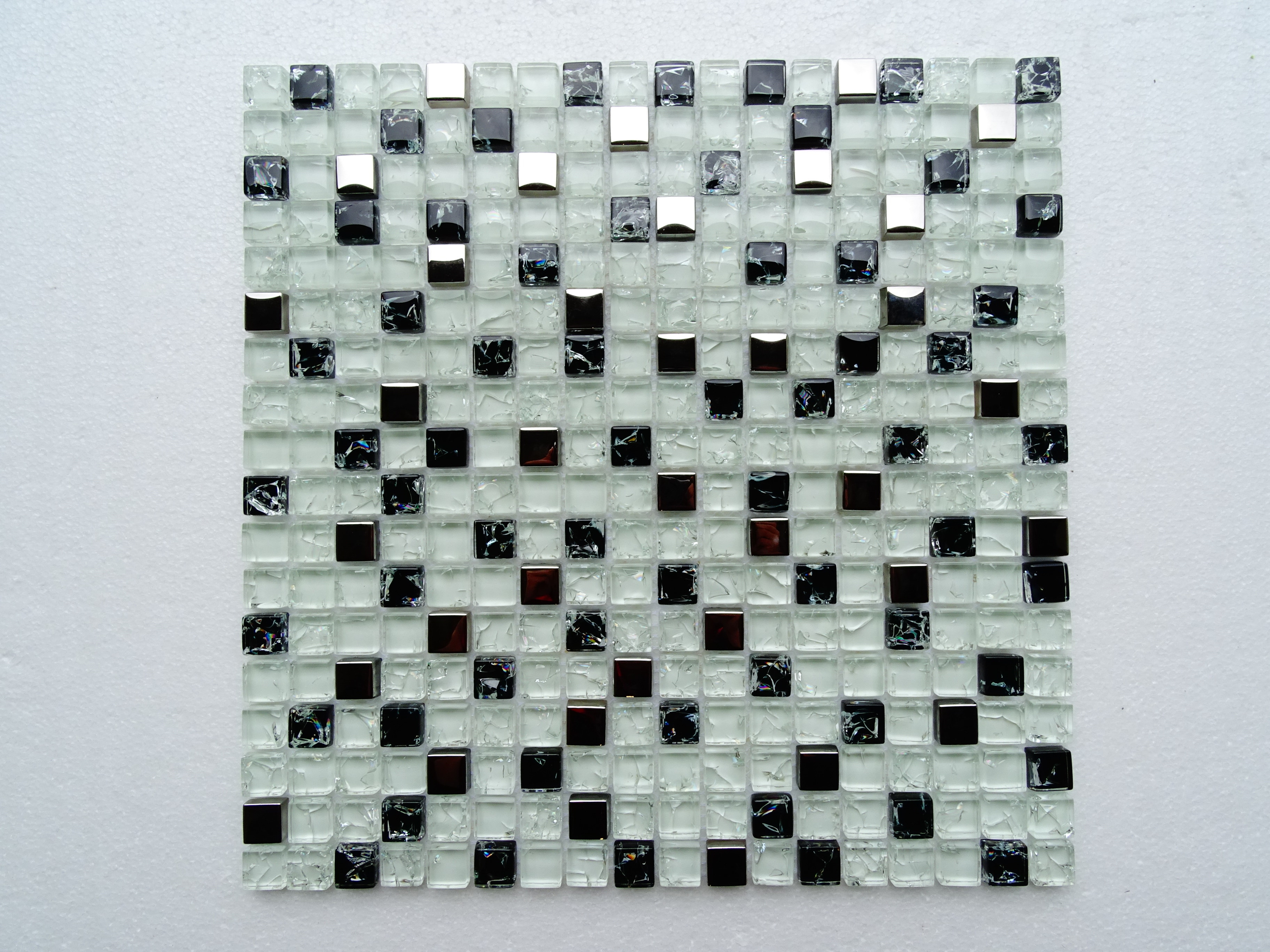 """Fancy and Shiny / 11.75""""x12""""x8mm Square Series 0"""