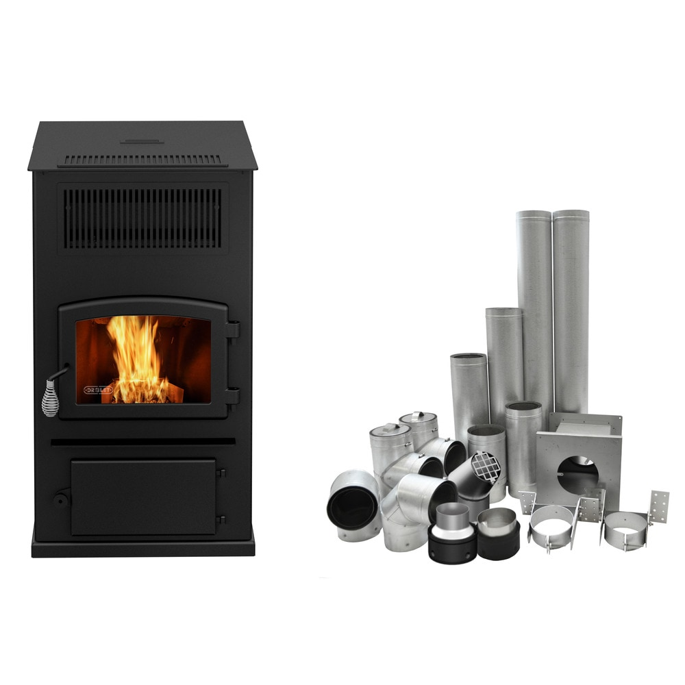 Drolet Classic II with blower Drolet wood stove Classic / Wood ...