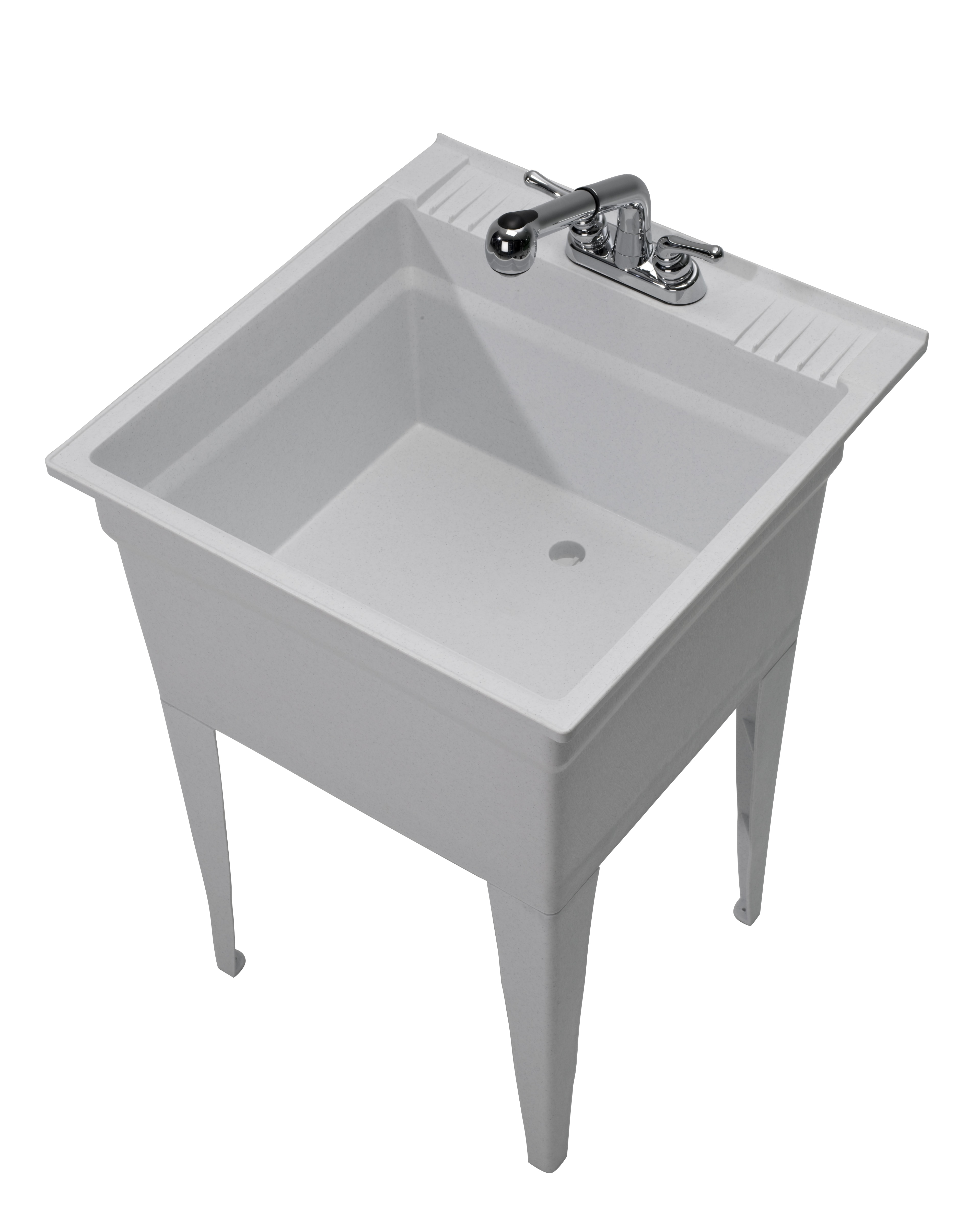 Cashel, LLC Cashel Heavy Duty Sink - Fully Loaded Sink Kit - Granite ...