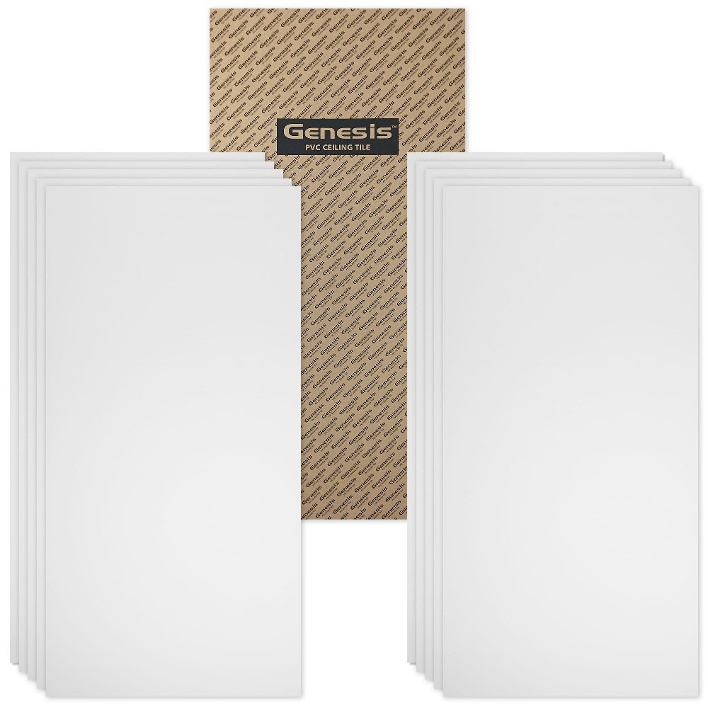 Genesis lay in ceiling tiles case of 10 smooth pro 2ft x 4ft 74500c1k58935be717fb6 dailygadgetfo Gallery