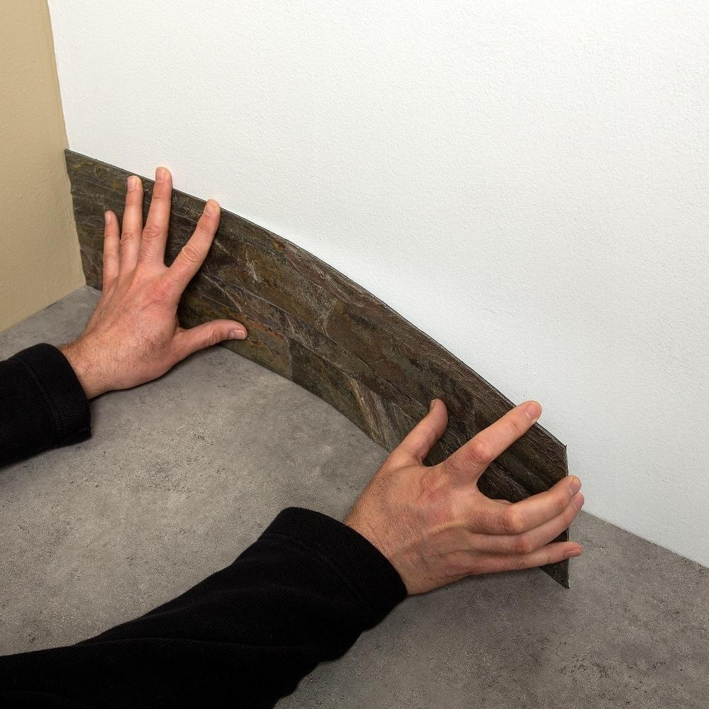 Aspect 6 x 24 inch autumn sandstone peel and stick stone backsplash - Aspect 6 X 24 Inch Autumn Sandstone Peel And Stick Stone Backsplash 86