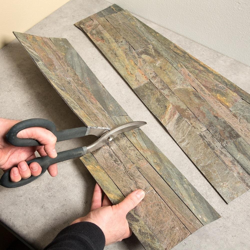 Aspect 6 x 24 inch autumn sandstone peel and stick stone backsplash - Aspect 6 X 24 Inch Autumn Sandstone Peel And Stick Stone Backsplash 73