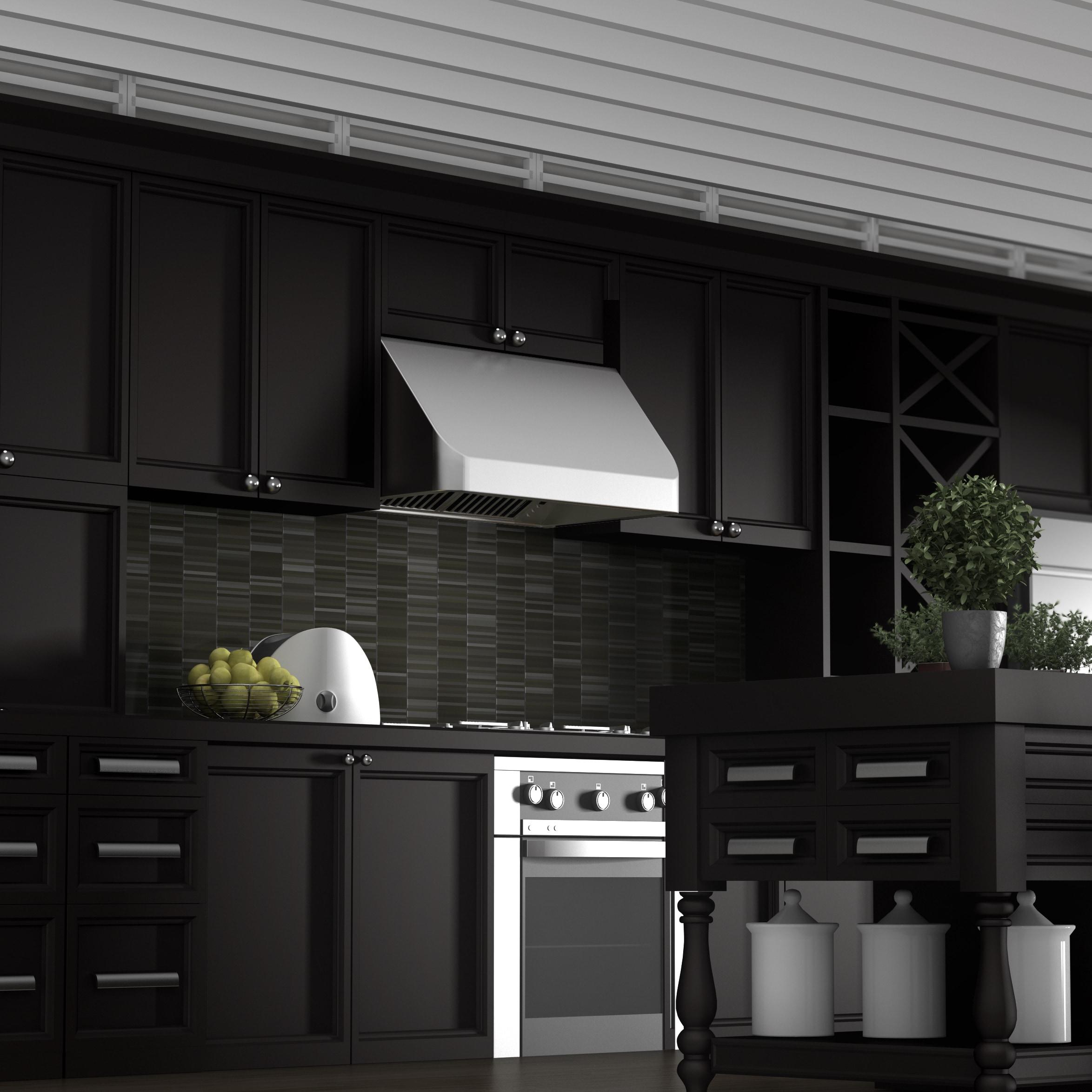 Unique 36 Stainless Steel Range Hood Under Cabinet