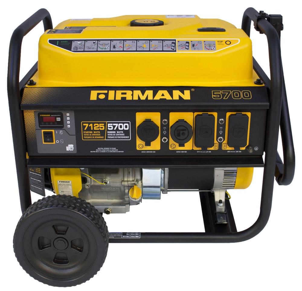 Firman Power Equipment Firman P05701 Gas Powered 5700 7100
