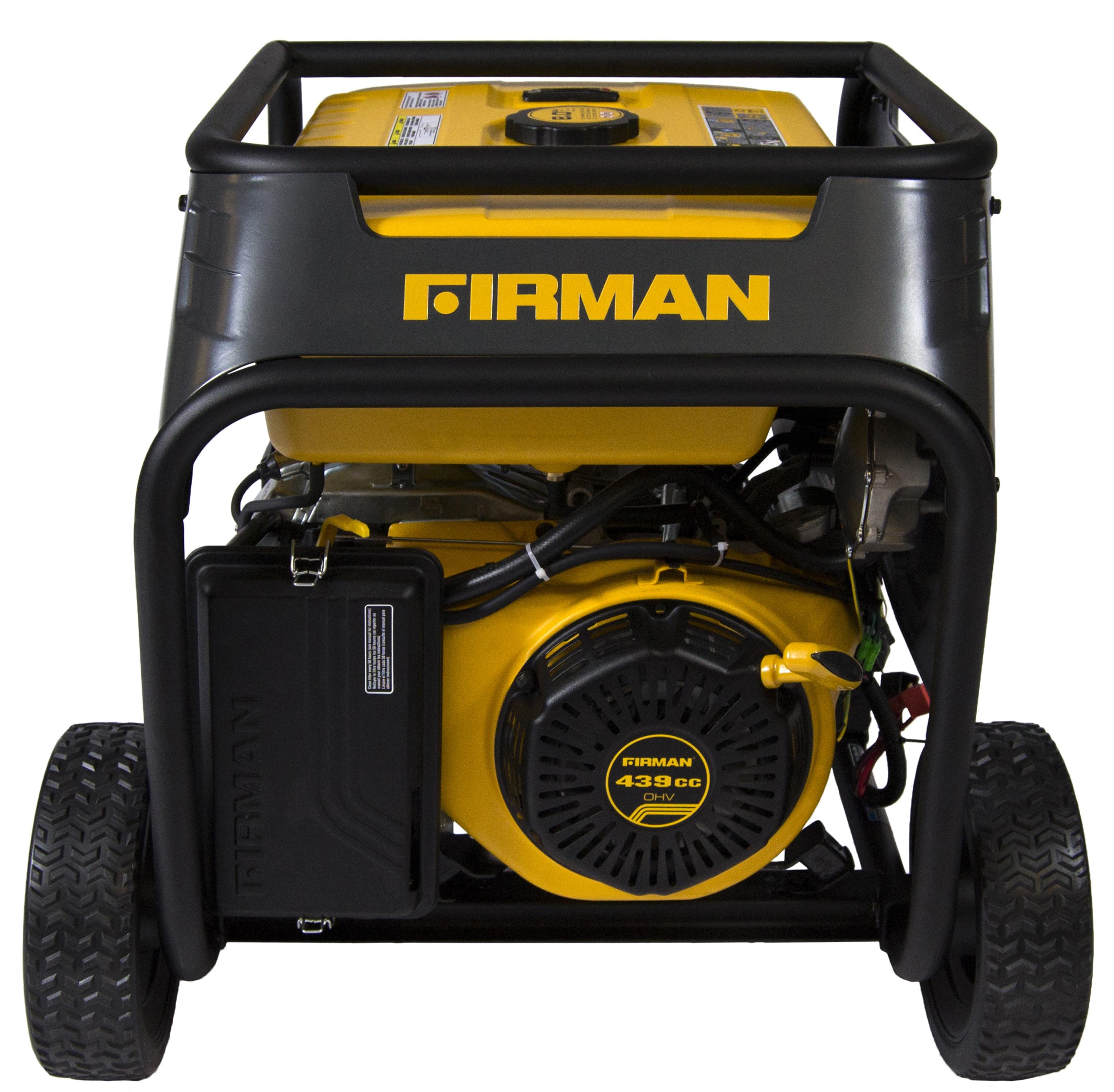 Firman Power Equipment Hybrid Series Dual Fuel Generator 5700 7125