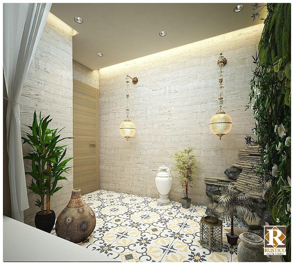 Rustico Tile and Stone Encaustic Cement Tile Thames Concrete Tile ...