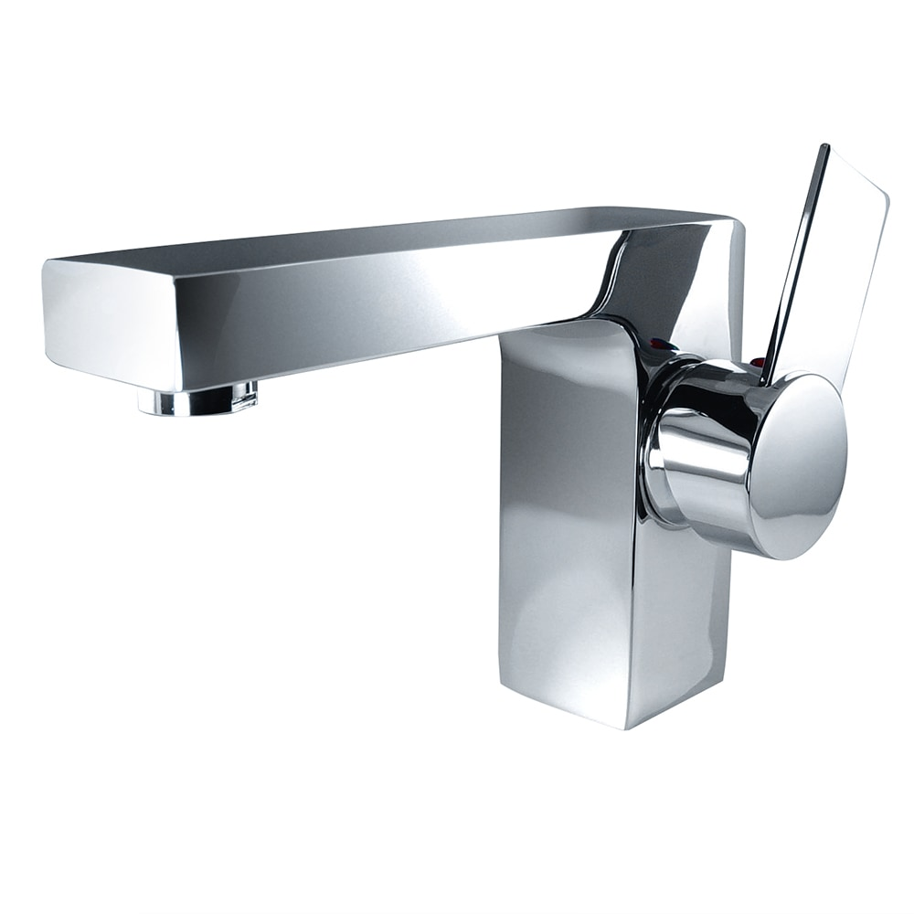 Fresca Isarus Single Hole Mount Bathroom Vanity Faucet Chrome
