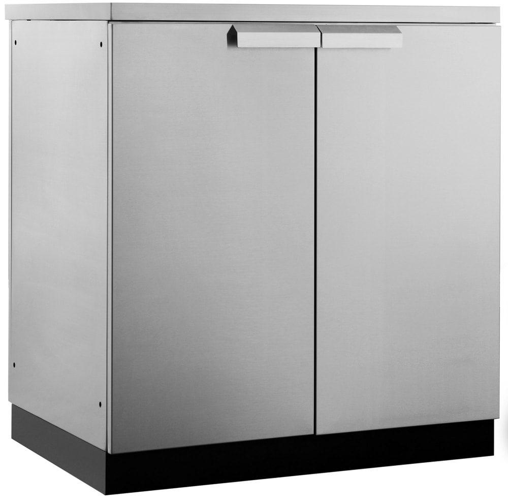Stainless Steel Outdoor Kitchen Cabinet Doors: NEWAGE PRODUCTS INC Outdoor Kitchen Stainless Steel