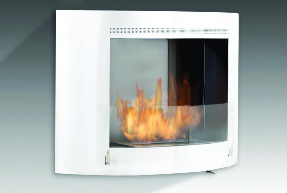 Eco Feu Olympia Wallmount Fireplace Wall Mounted Bio Ethanol Fire Place 33 1 8 39 39 X 8 5 16