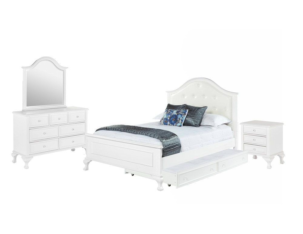 Jenna Full Bed With Trundle  Pc Set