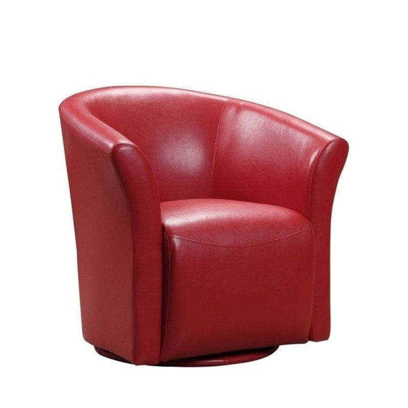 Picket house furnishings radford living room collection for Red swivel chairs for living room