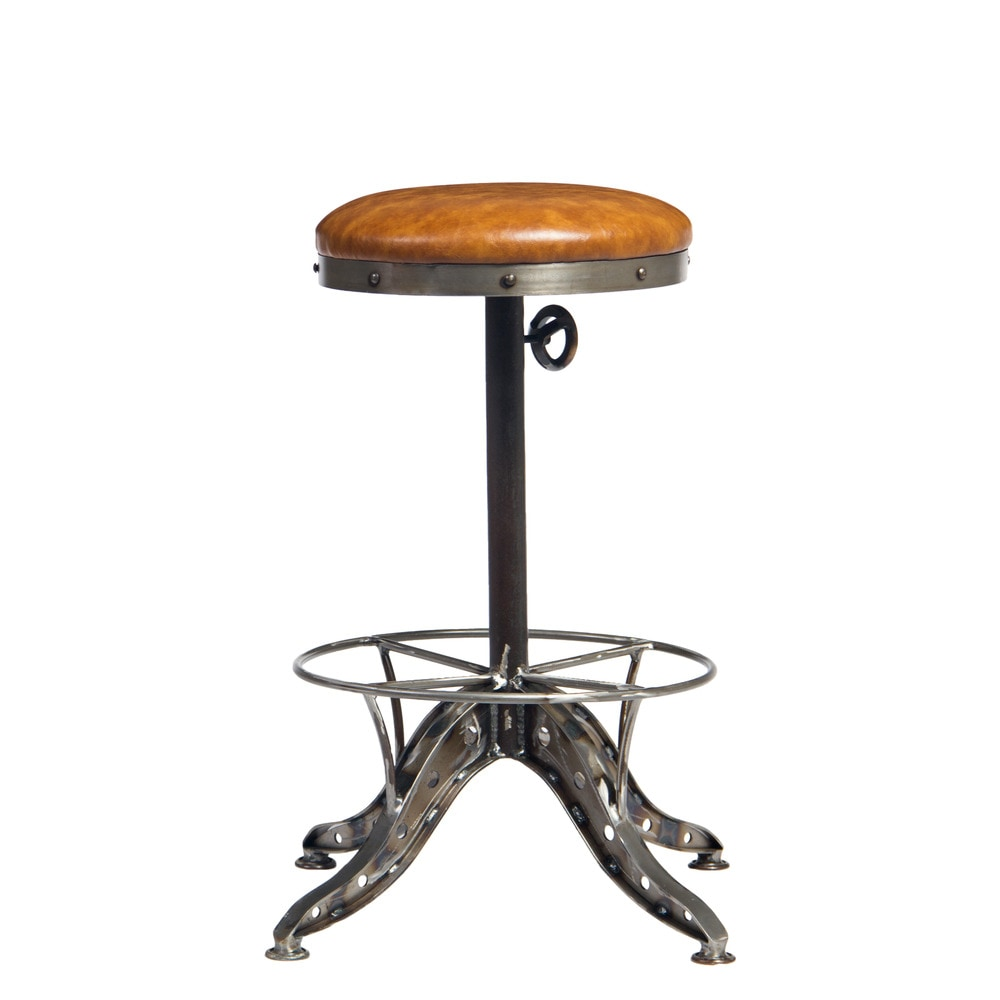 Moe's Home Collection Baxter Counter Stool Light Brown 1 ...