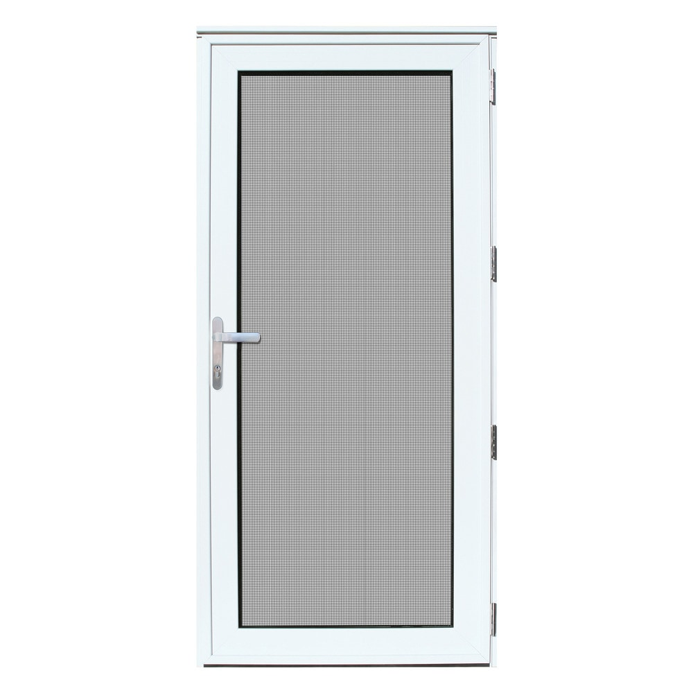 Security Storm Doors Product : Titan security doors recessed mount