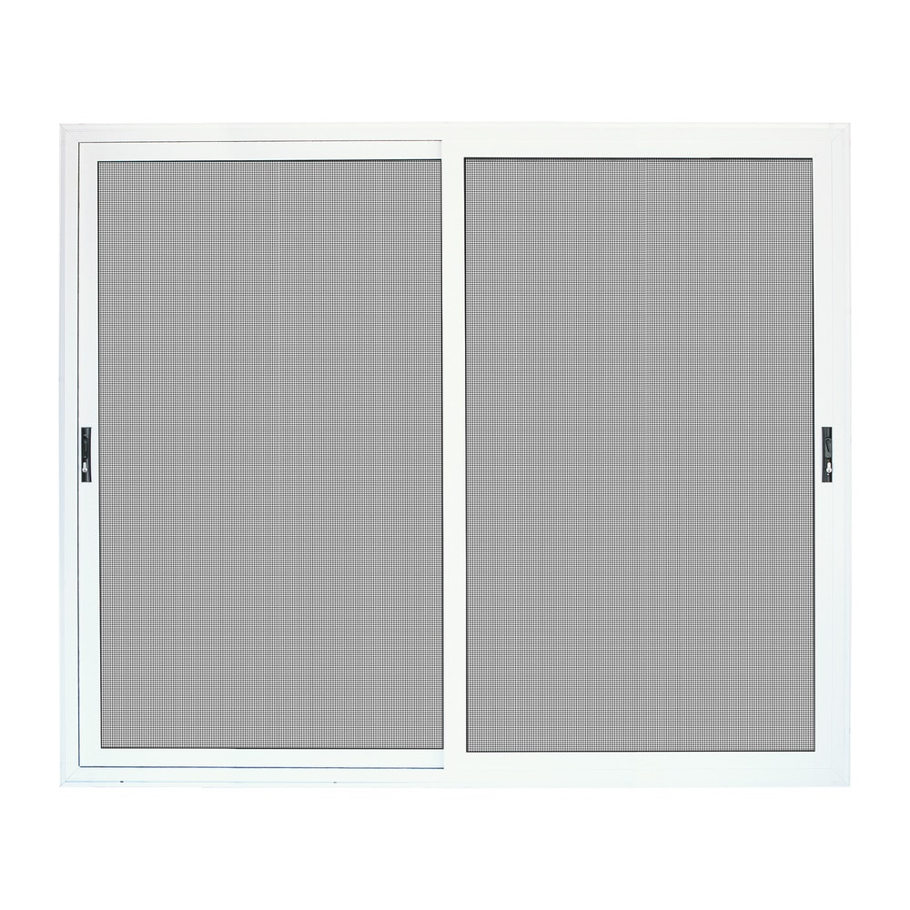 Titan Security Doors Meshtec Ultimate Patio Screen Door White 96 X