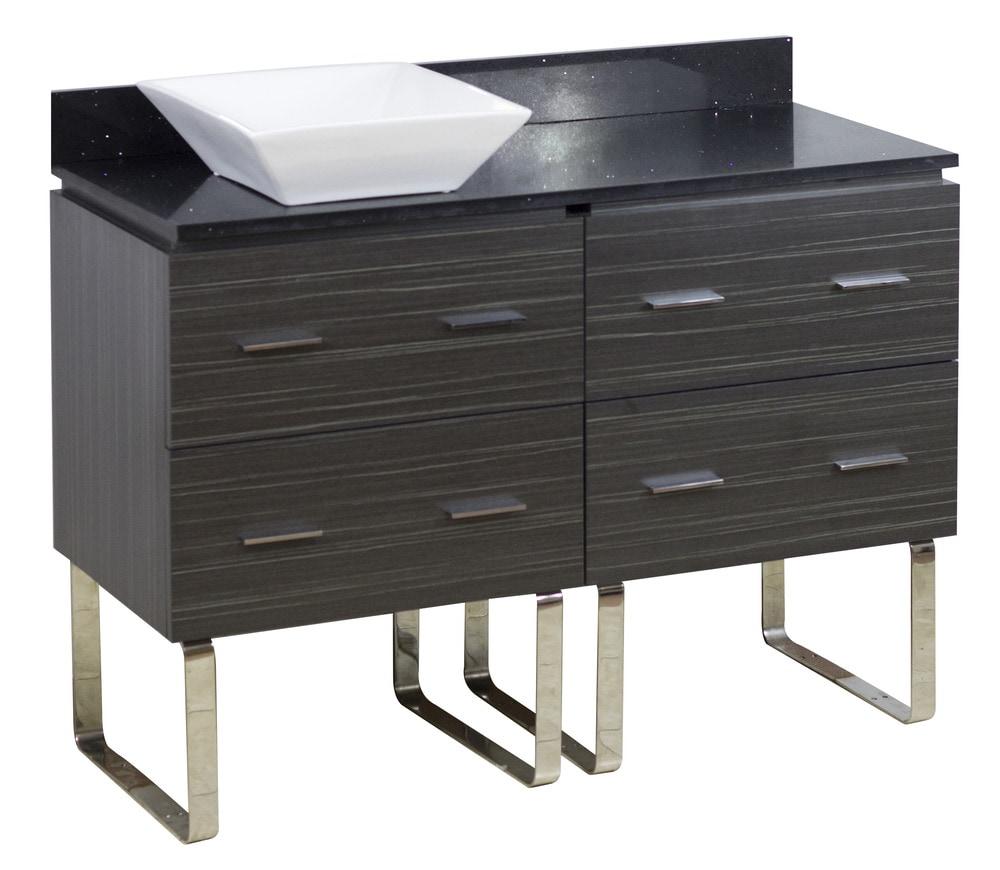 american xena quartz floor mounted vanity set w
