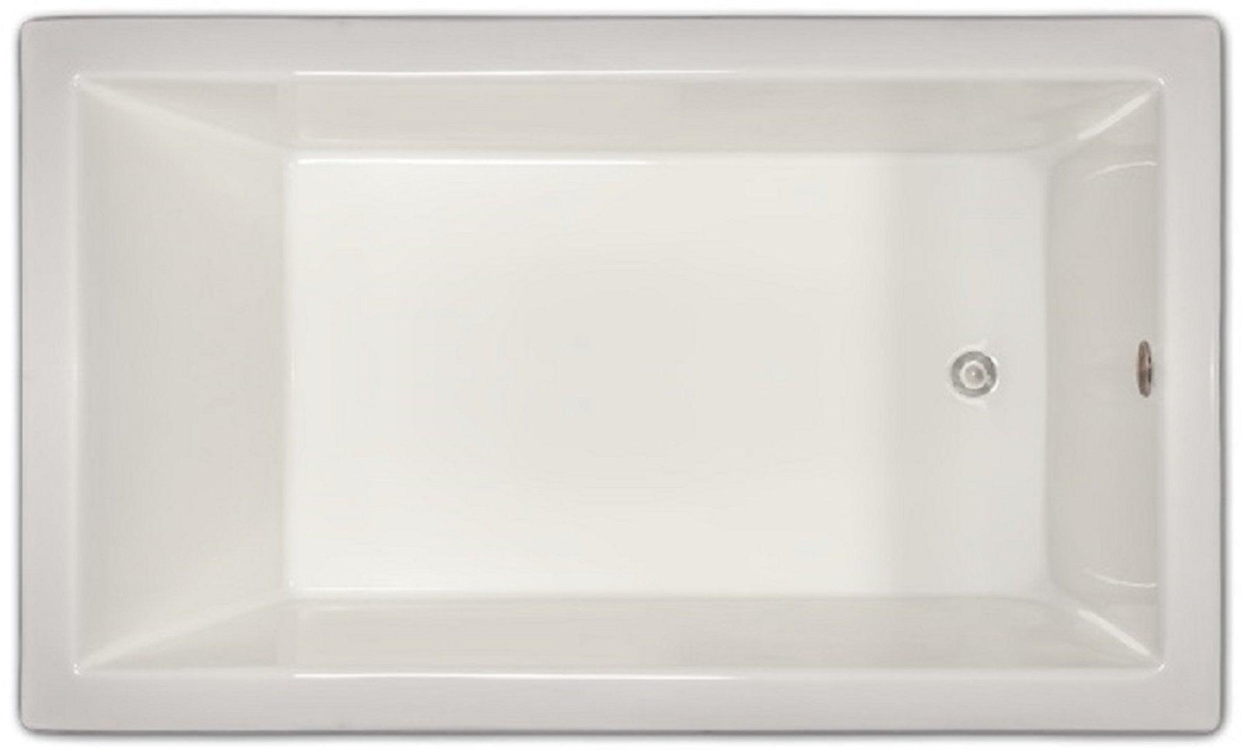 Drop-in Bathtub / 59.5x35.5x19 / high gloss white acrylic / Rectangle / LPI18-S Pinnacle Bath - Soaker 0