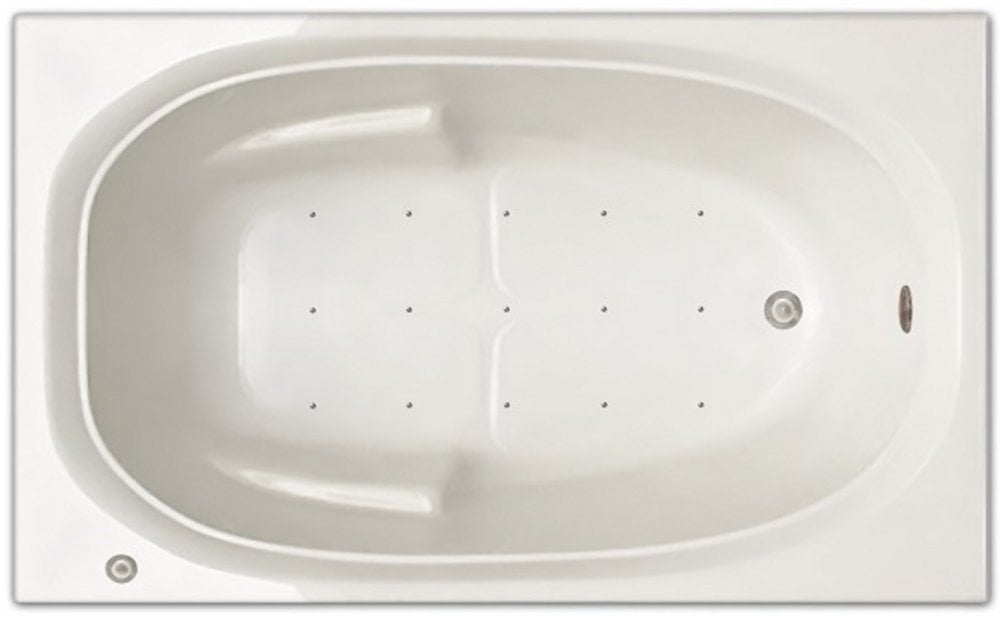 Pinnacle Bath Signature Bath - Air Bath Drop-in Bathtub / 60x36x19 ...
