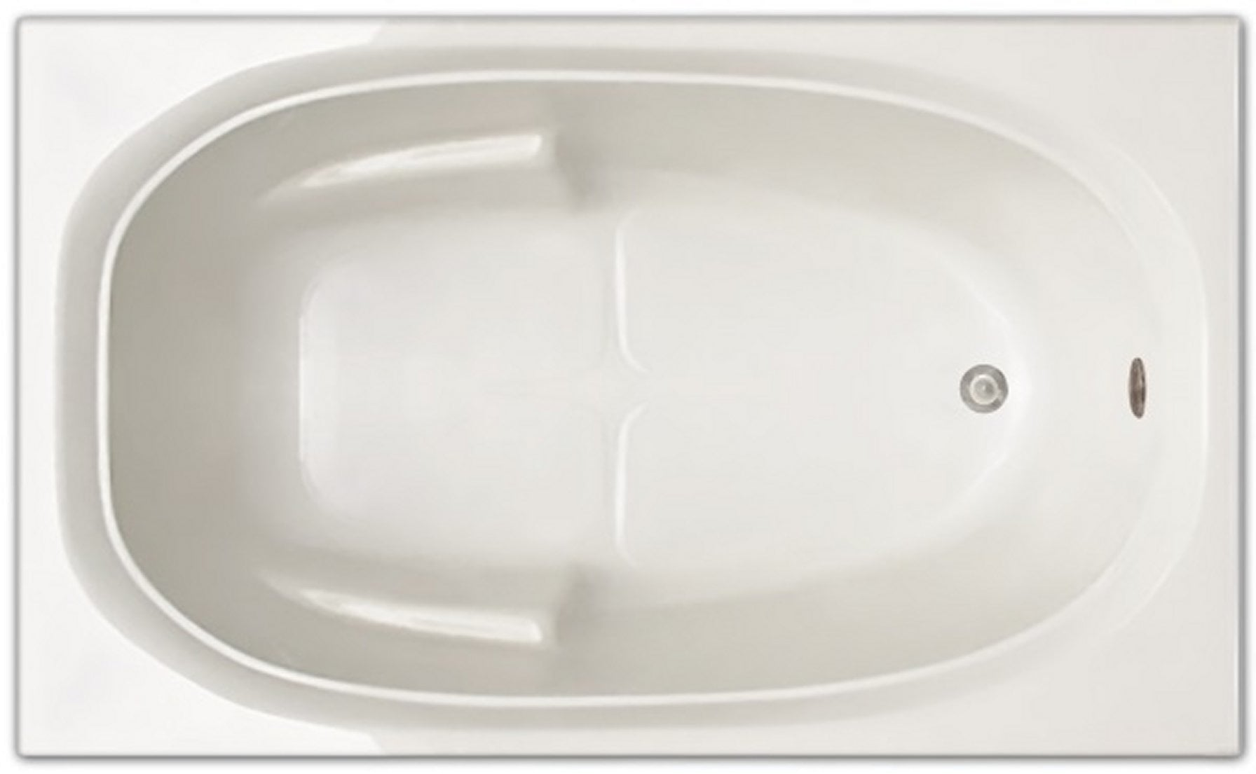 Drop-in Bathtub / 60x36x19 / high gloss white acrylic / Rectangle / LPI221-S Pinnacle Bath - Soaker 0