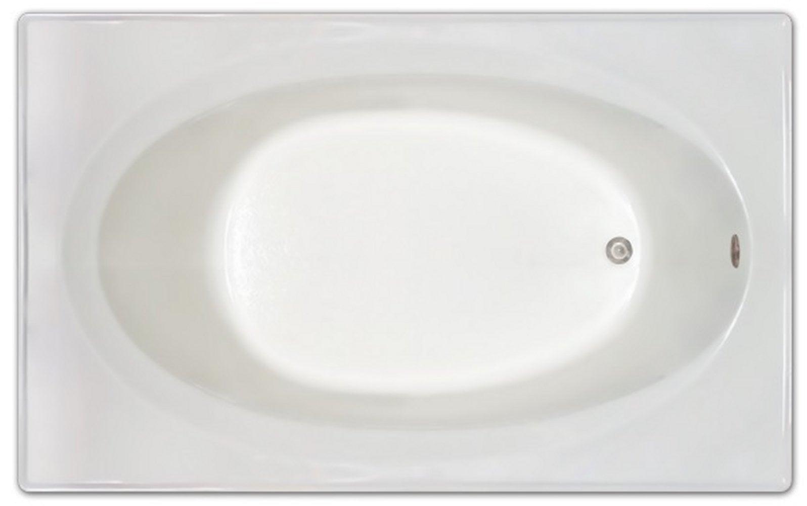 Drop-in Bathtub / 72x42x19 / high gloss white acrylic / Rectangle / LPI225-S Pinnacle Bath - Soaker 0