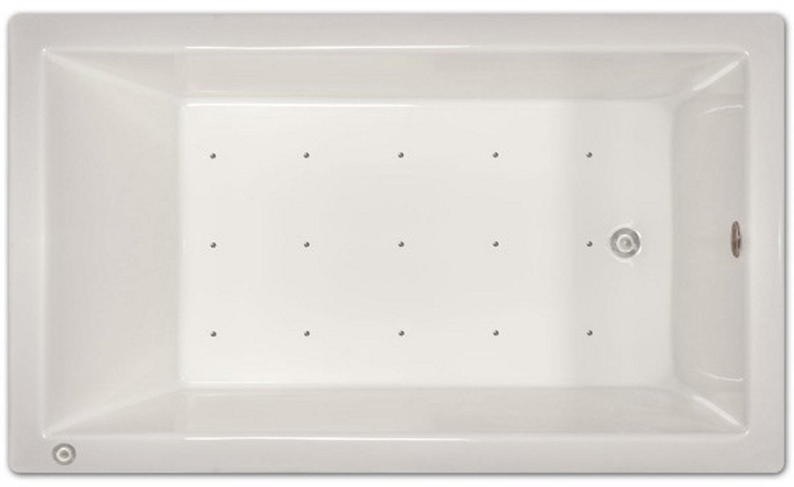 Drop-in Bathtub / 72x42x18 / high gloss white acrylic / Rectangle / LPI228-A-LD Pinnacle Bath - Air Bath 0