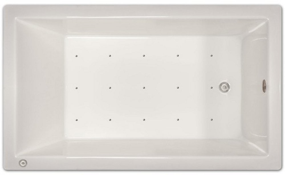 Pinnacle Bath Pinnacle Bath - Air Bath Drop-in Bathtub / 72x42x18 ...