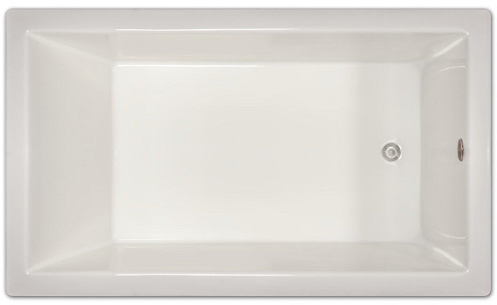 Drop-in Bathtub / 72x42x18 / high gloss white acrylic / Rectangle / LPI228-S Pinnacle Bath - Soaker 0