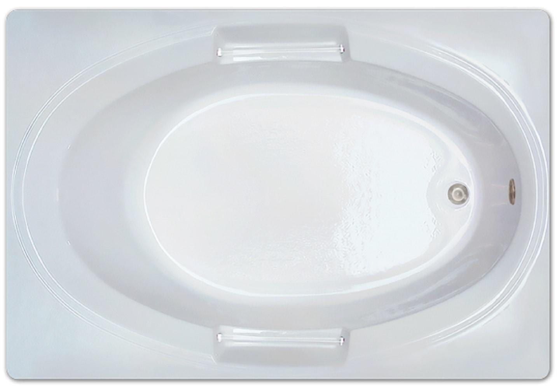 Drop-in Bathtub / 60x42x18 / high gloss white acrylic / Rectangle / LPI236-S Pinnacle Bath - Soaker 0