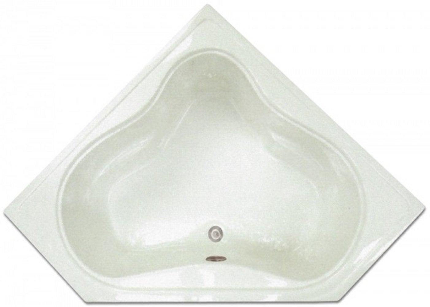 Drop-in Bathtub / 53.75x22.75x17.5 / high gloss white acrylic / Corner / LPI303-S Pinnacle Bath - Soaker 0