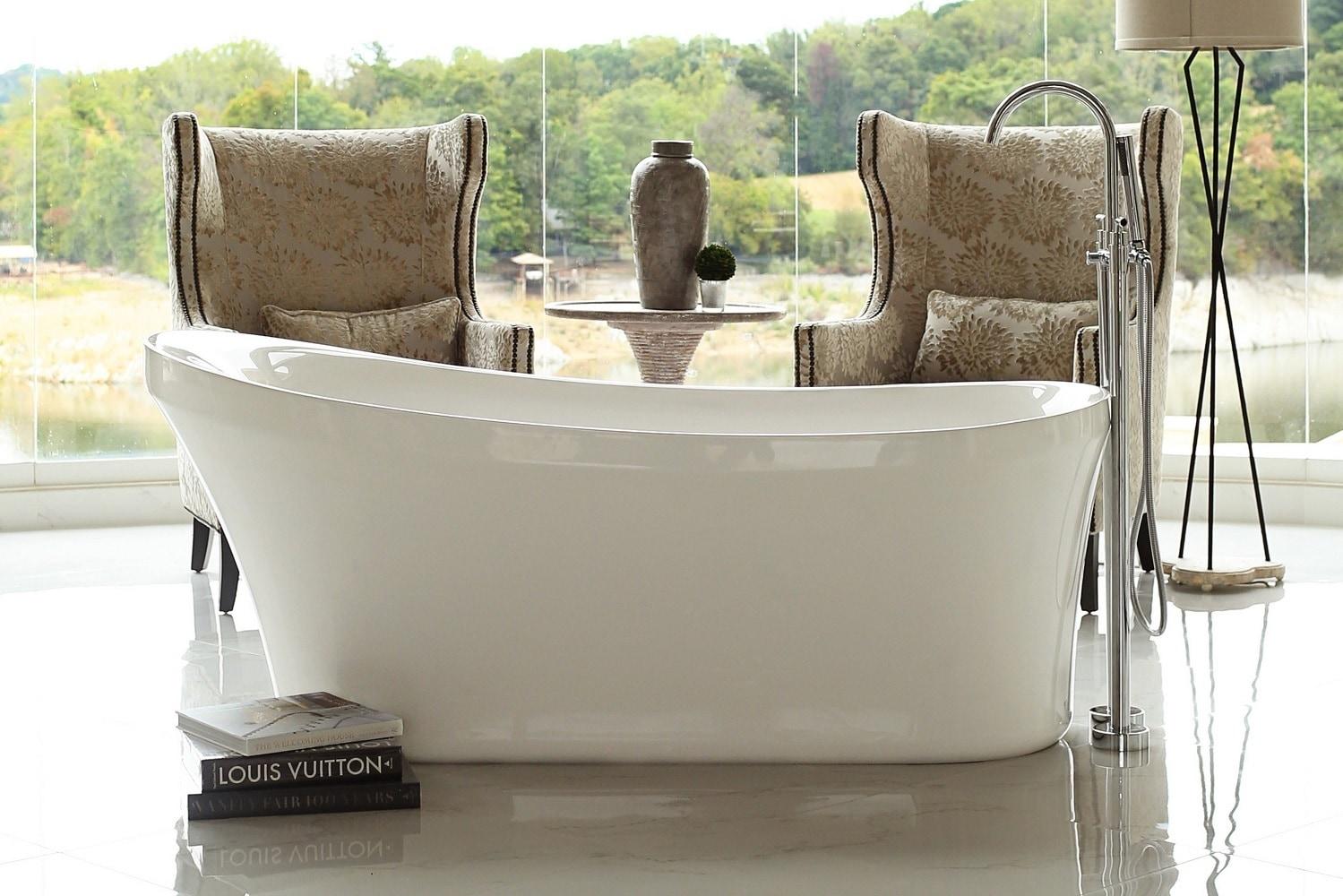 Freestanding tubs / 67x28.5.5x30 / Acrylic / LPIRLM-FS Signature Bath/Freestanding Tubs 0
