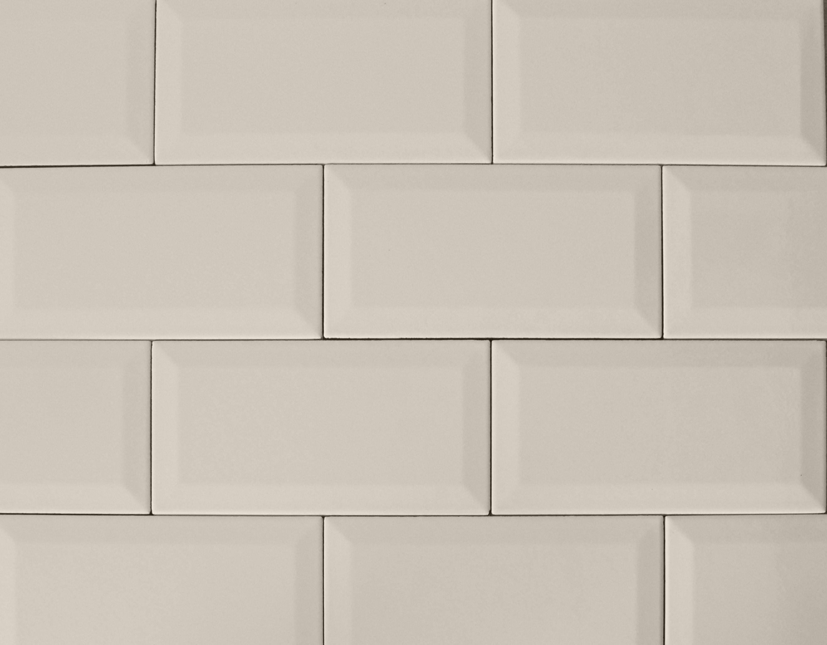 """4"""" x 8"""" / Glazed / Sand Subway Tile / Metro Tile - Beveled 0"""